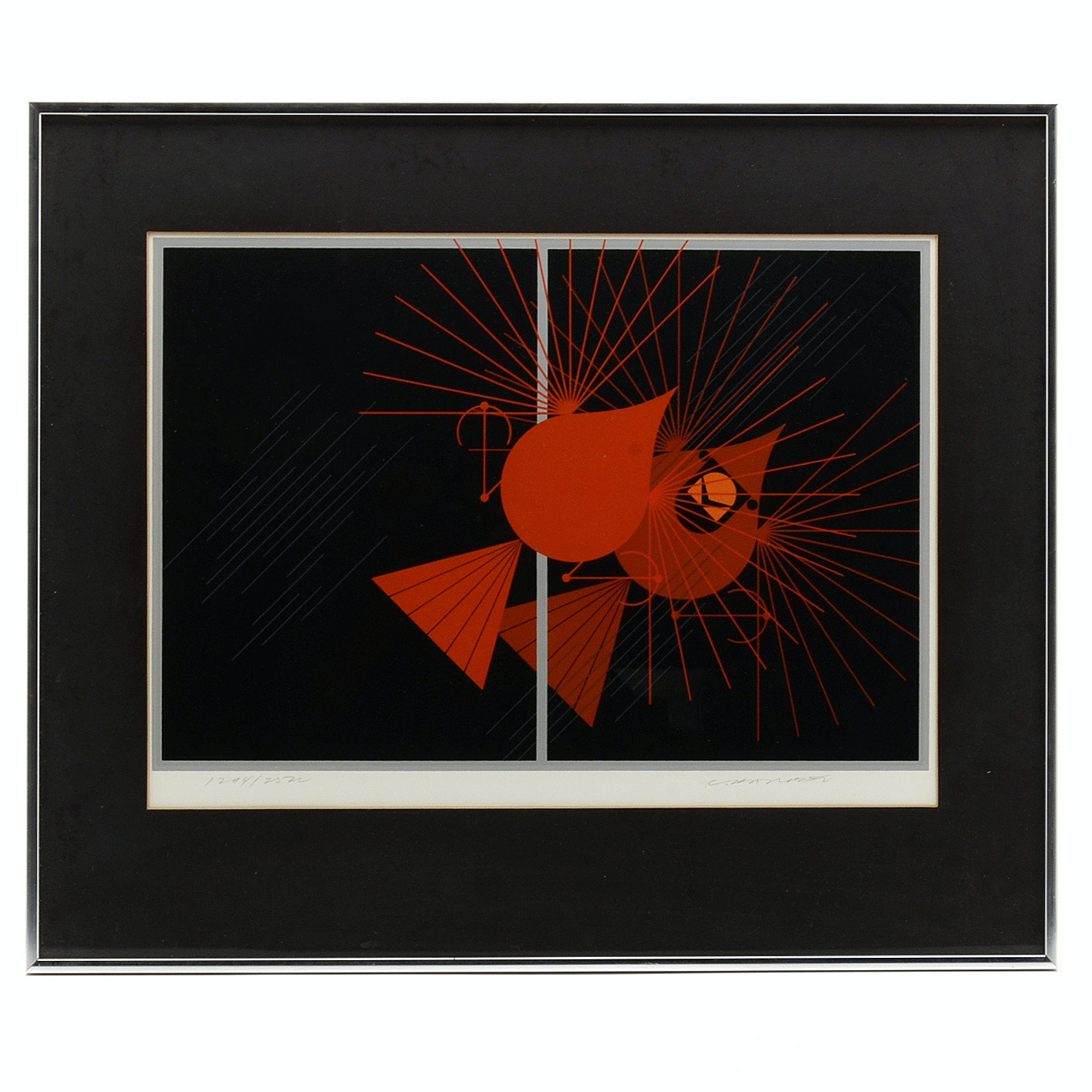 Charley Harper Signed Limited Edition Serigraph