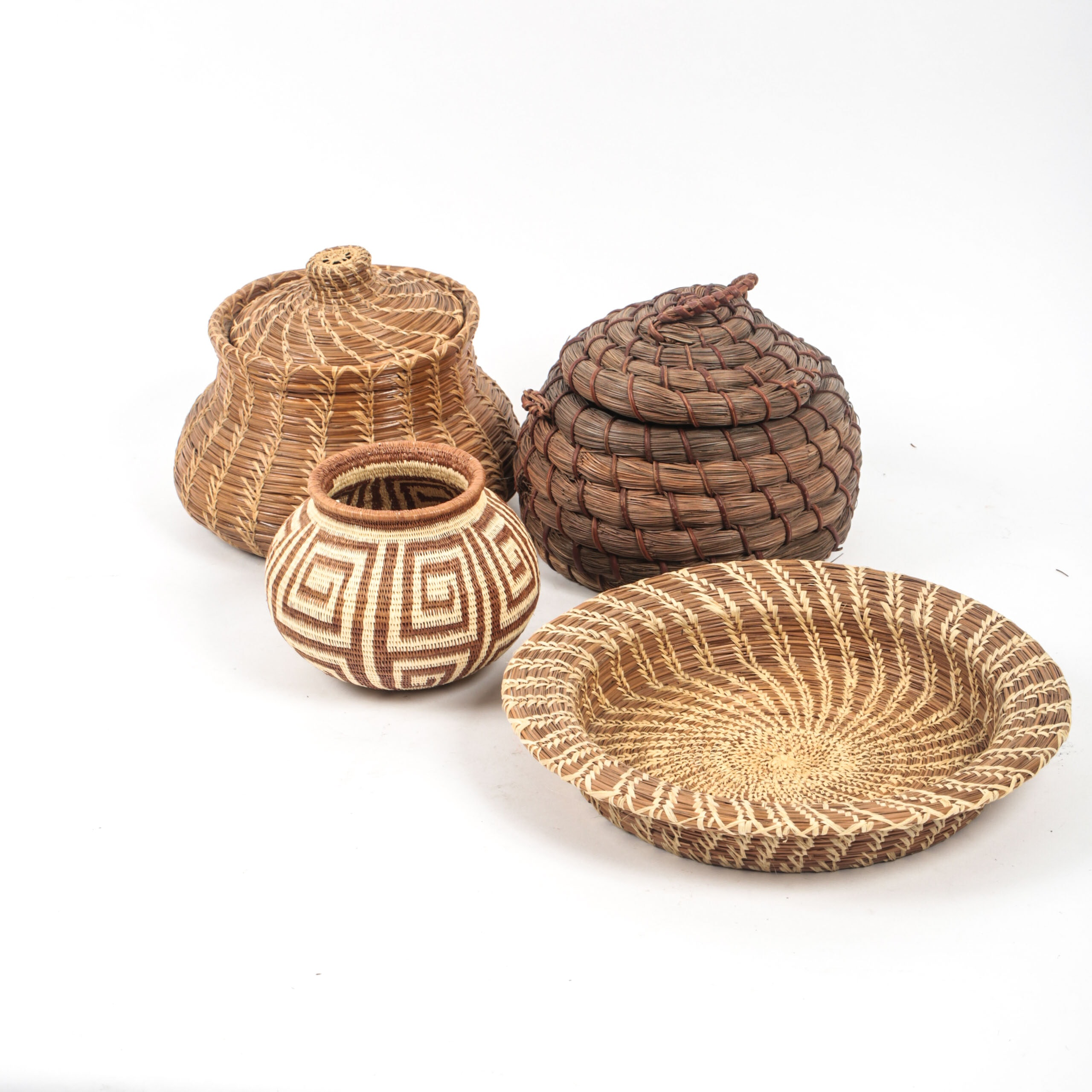 Hand Woven Darién Rainforest Baskets Made by Wounaan and Emberá Natives