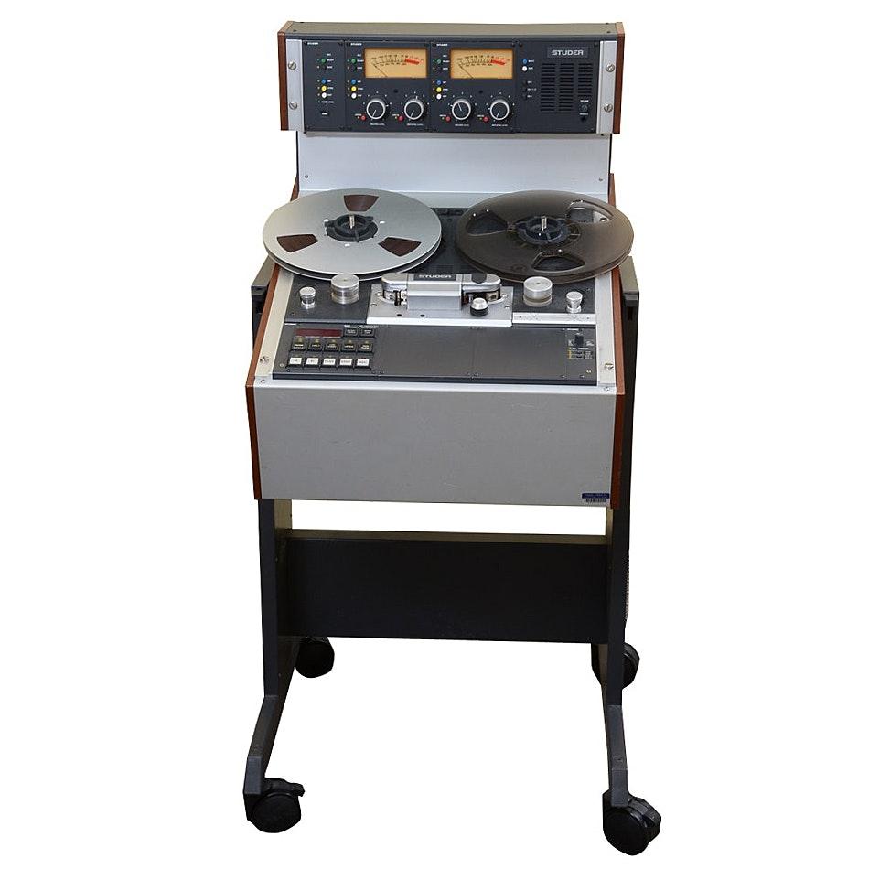 Studer Model A810 Studio Reel to Reel Tape Recorder