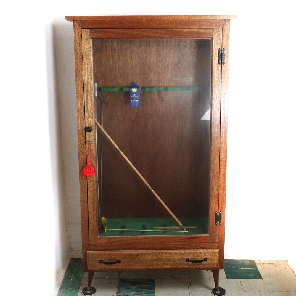 1967 Hand Crafted Gun Display Cabinet