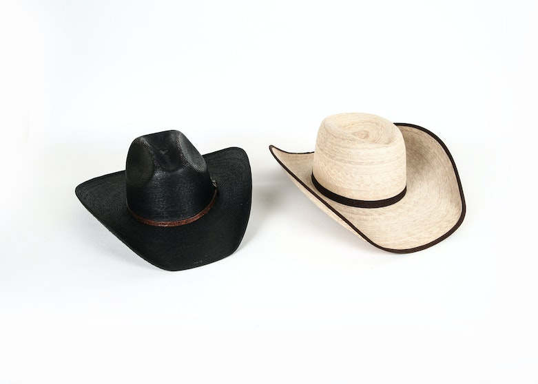 e68e382887909 Pair of Hard Formed Cowboy Hats by 8241 Ranch and Cavender s   EBTH