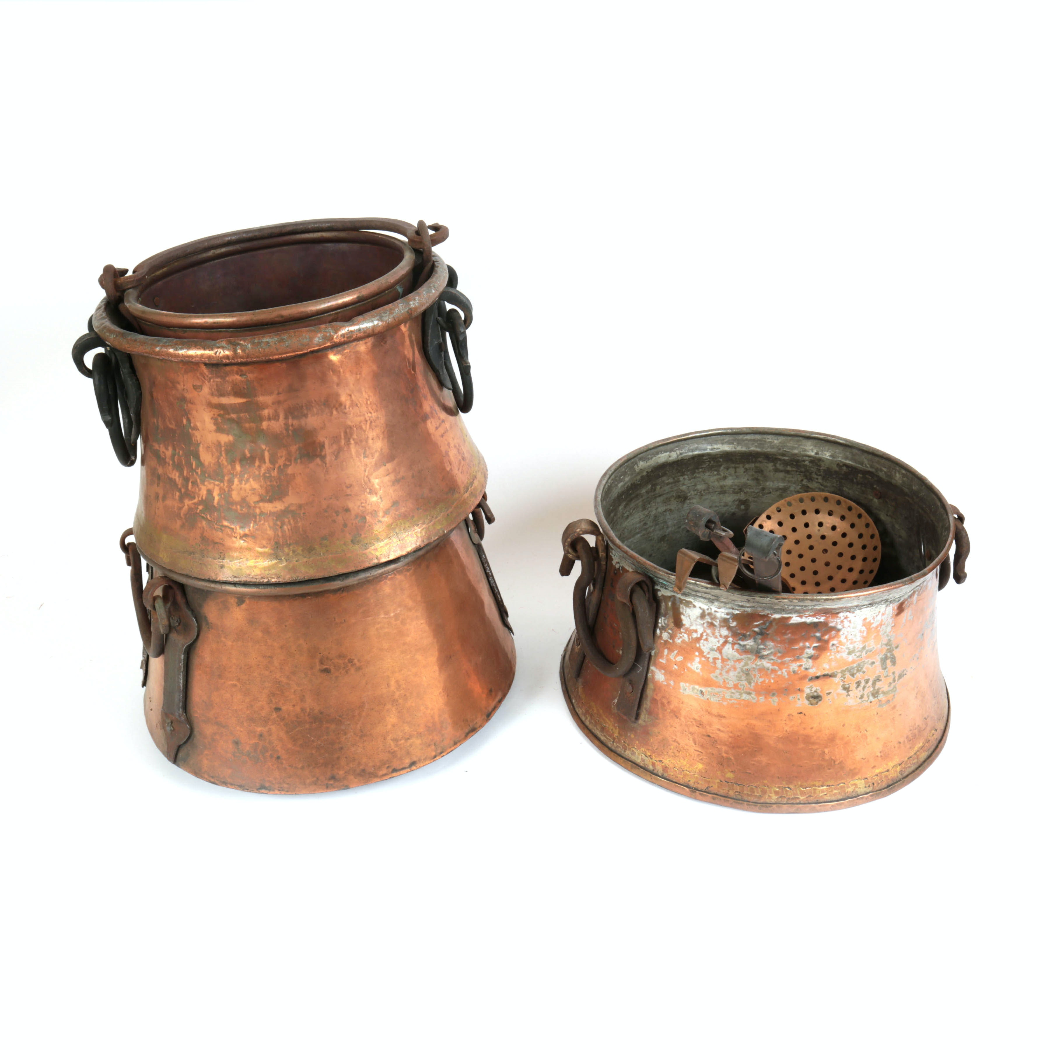 Copper Pots and Utensils