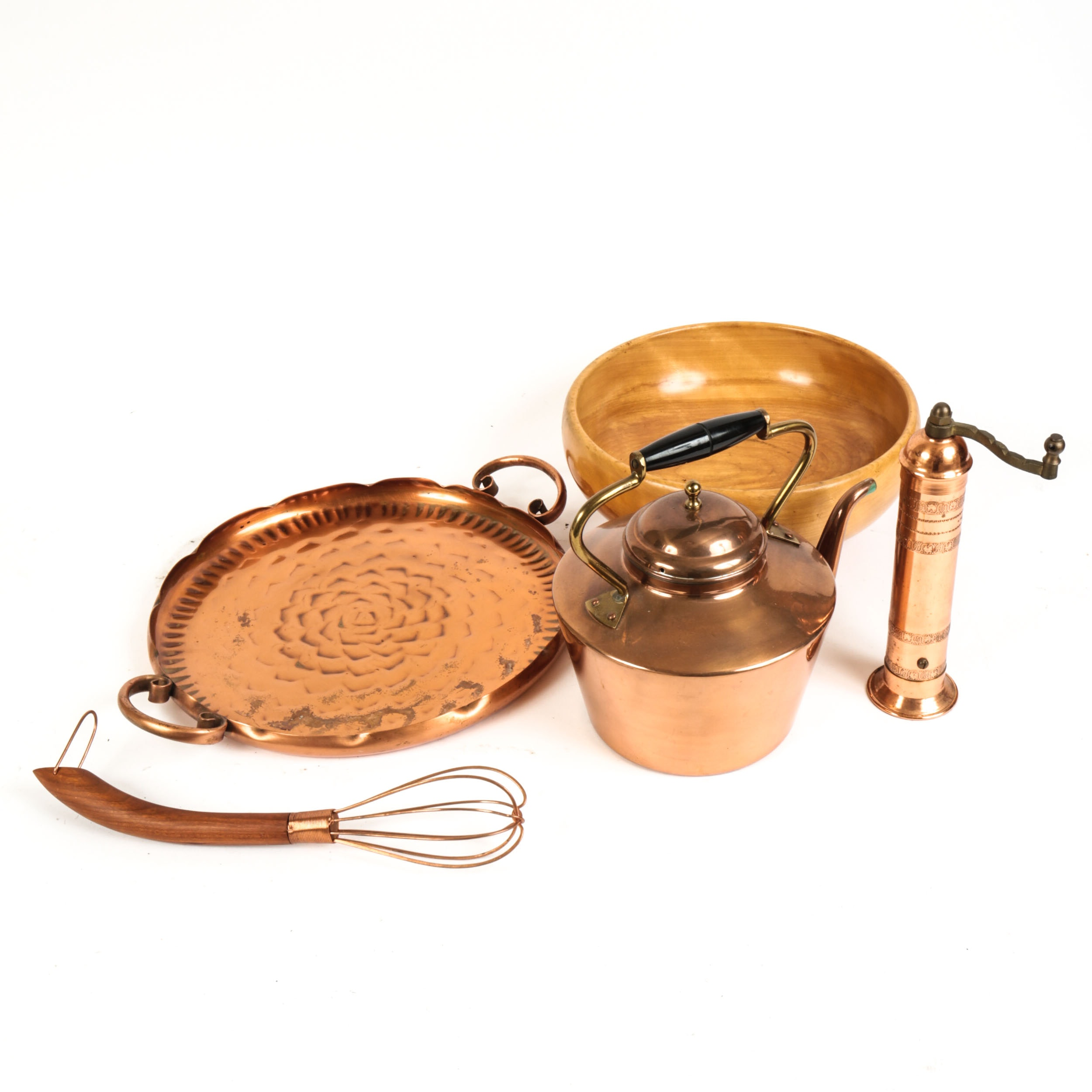 Copper Kitchen Ware