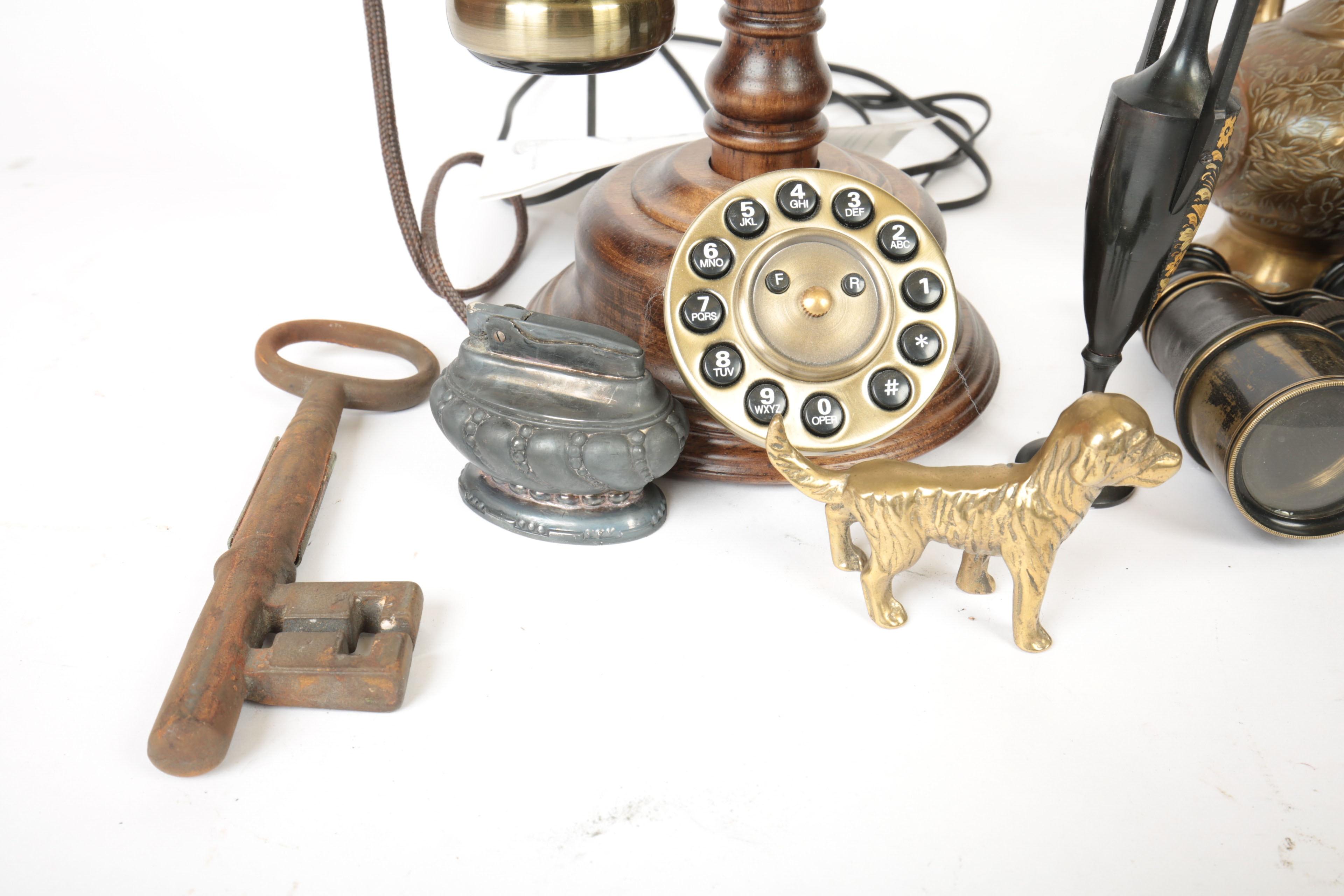 Assorted Desk Decor Including Sterling Silver Letter