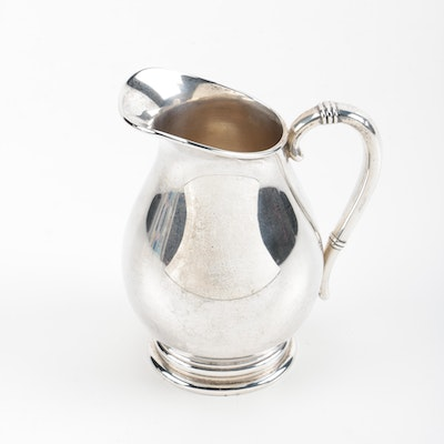 "International Silver Co. ""Royal Danish"" Sterling Silver Pitcher"