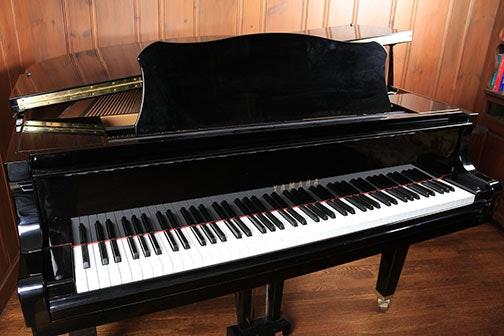 Yamaha ga1 baby grand piano and bench ebth for Yamaha baby grand piano dimensions