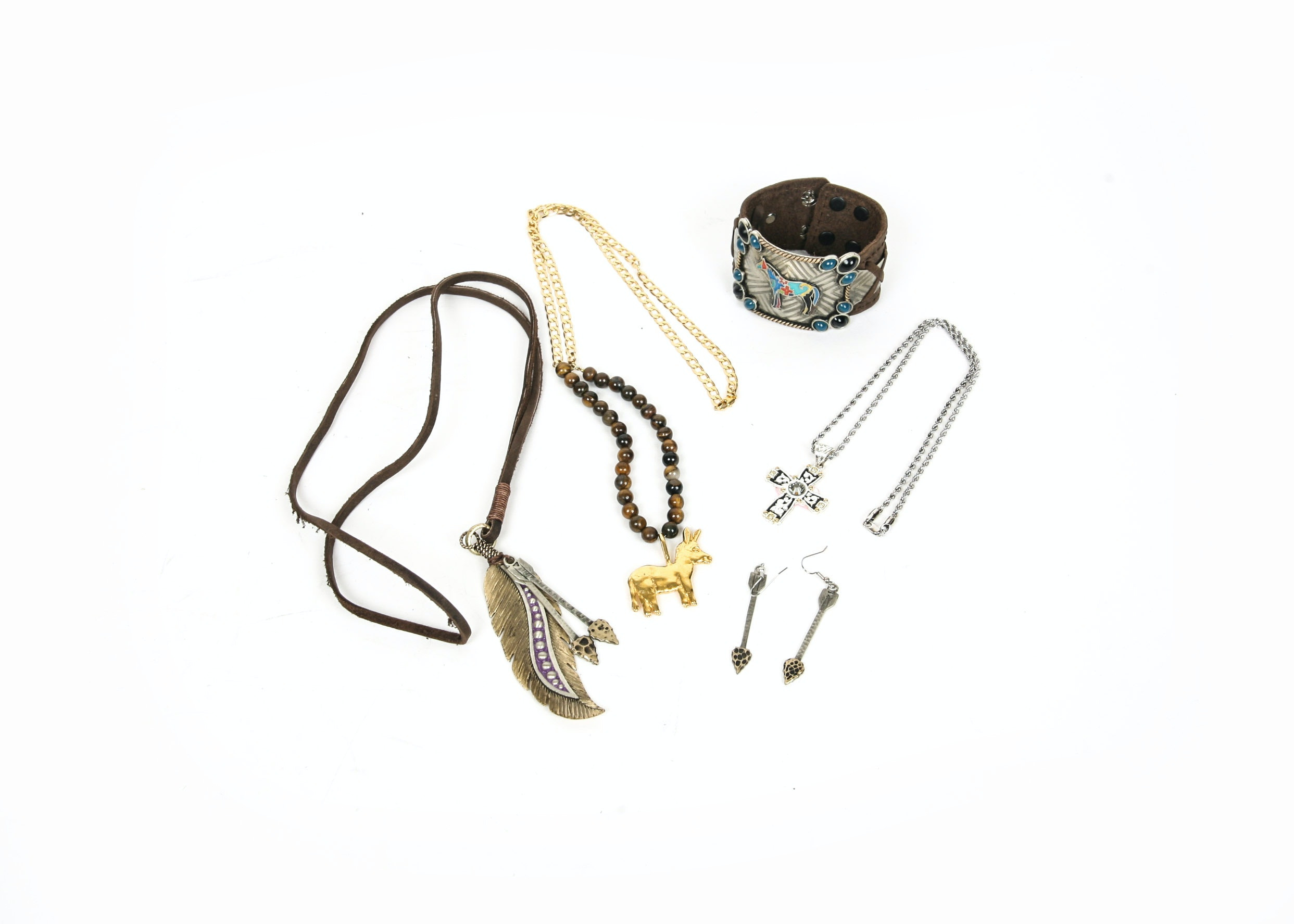 Collection of Western Jewelry and Accessories