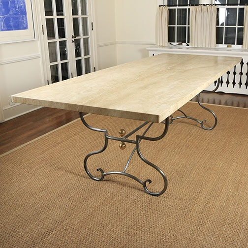 Arrowsmith Marble Top Dining Table