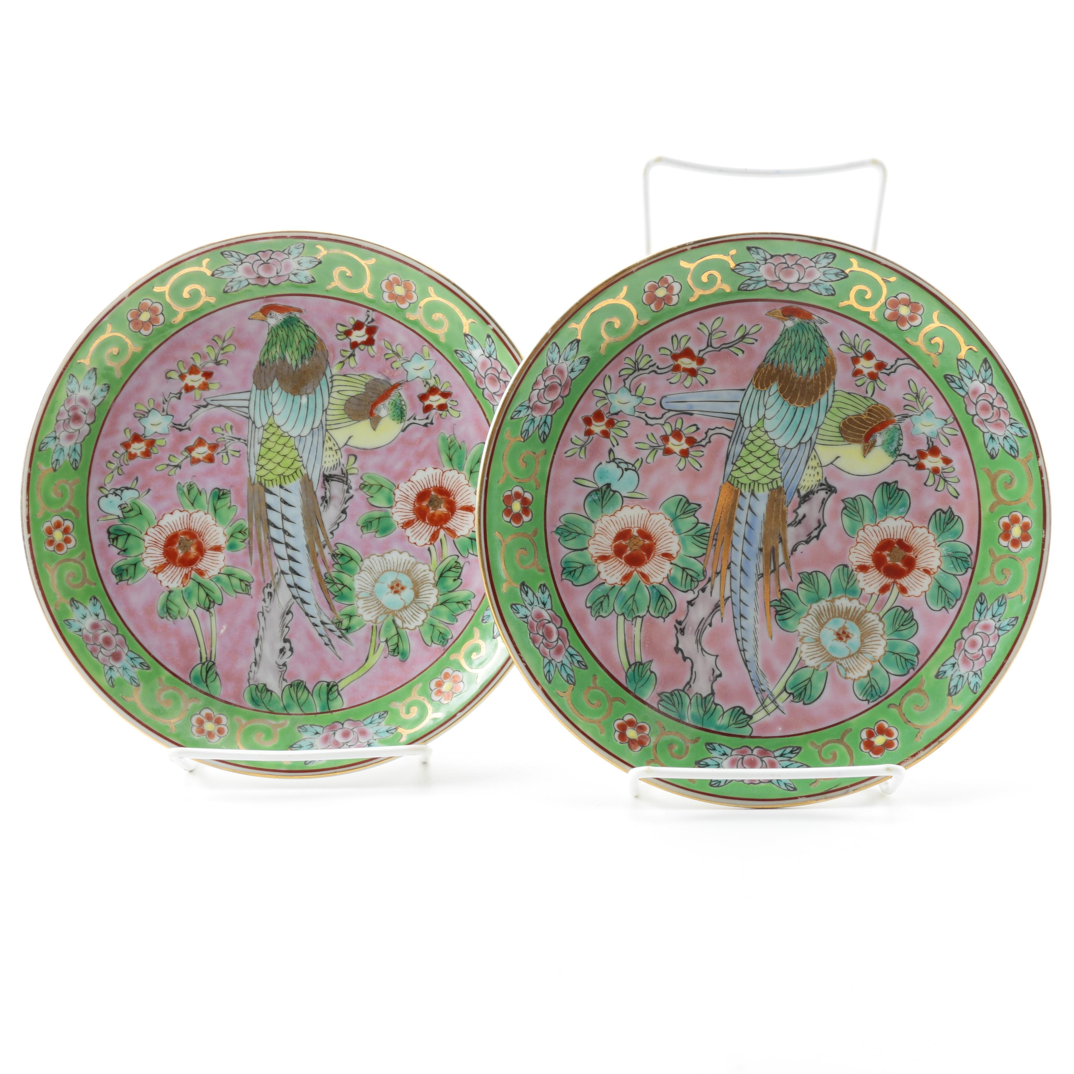 Hand-painted Japanese Plates
