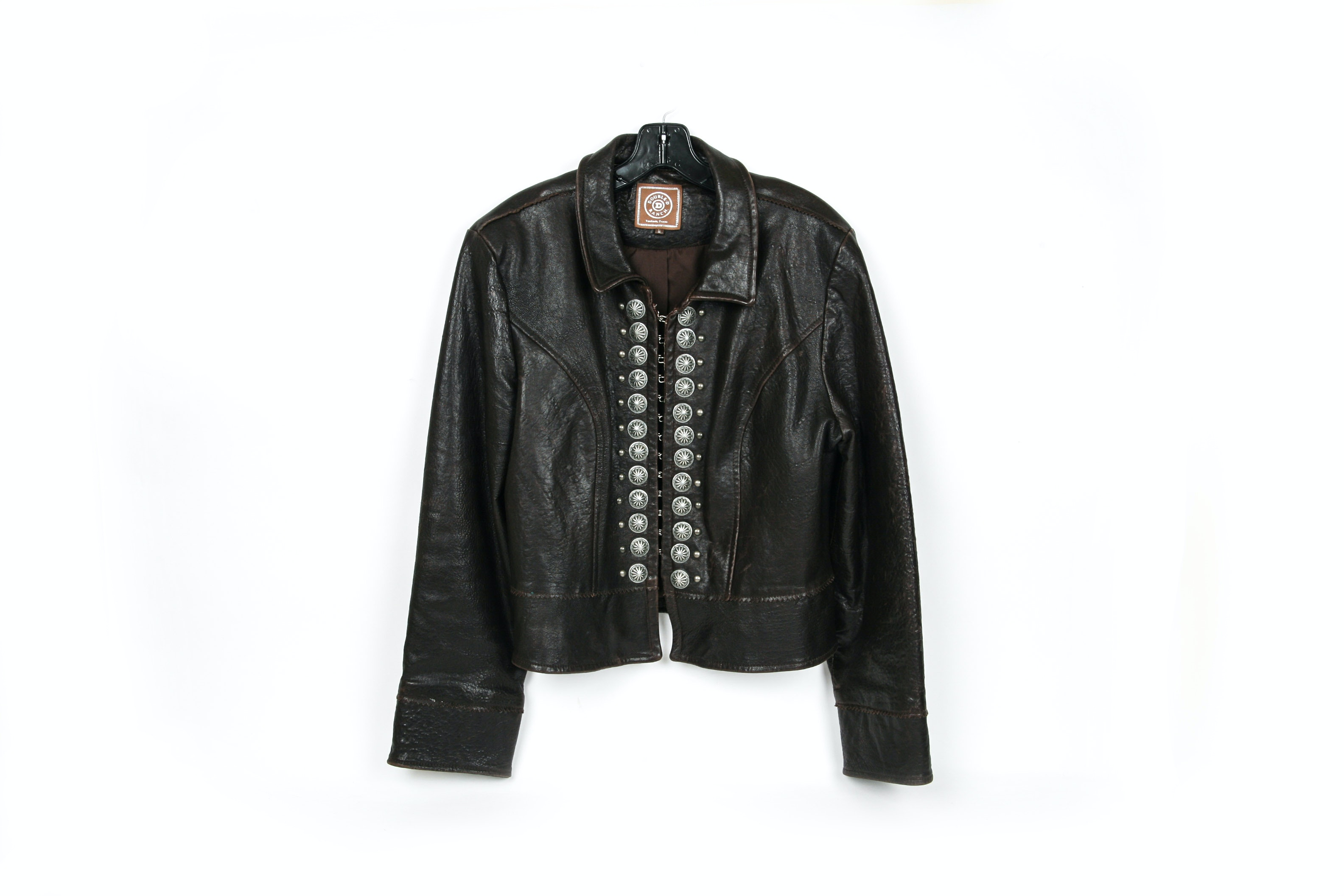 Double D Ranch Genuine Leather Women's Jacket