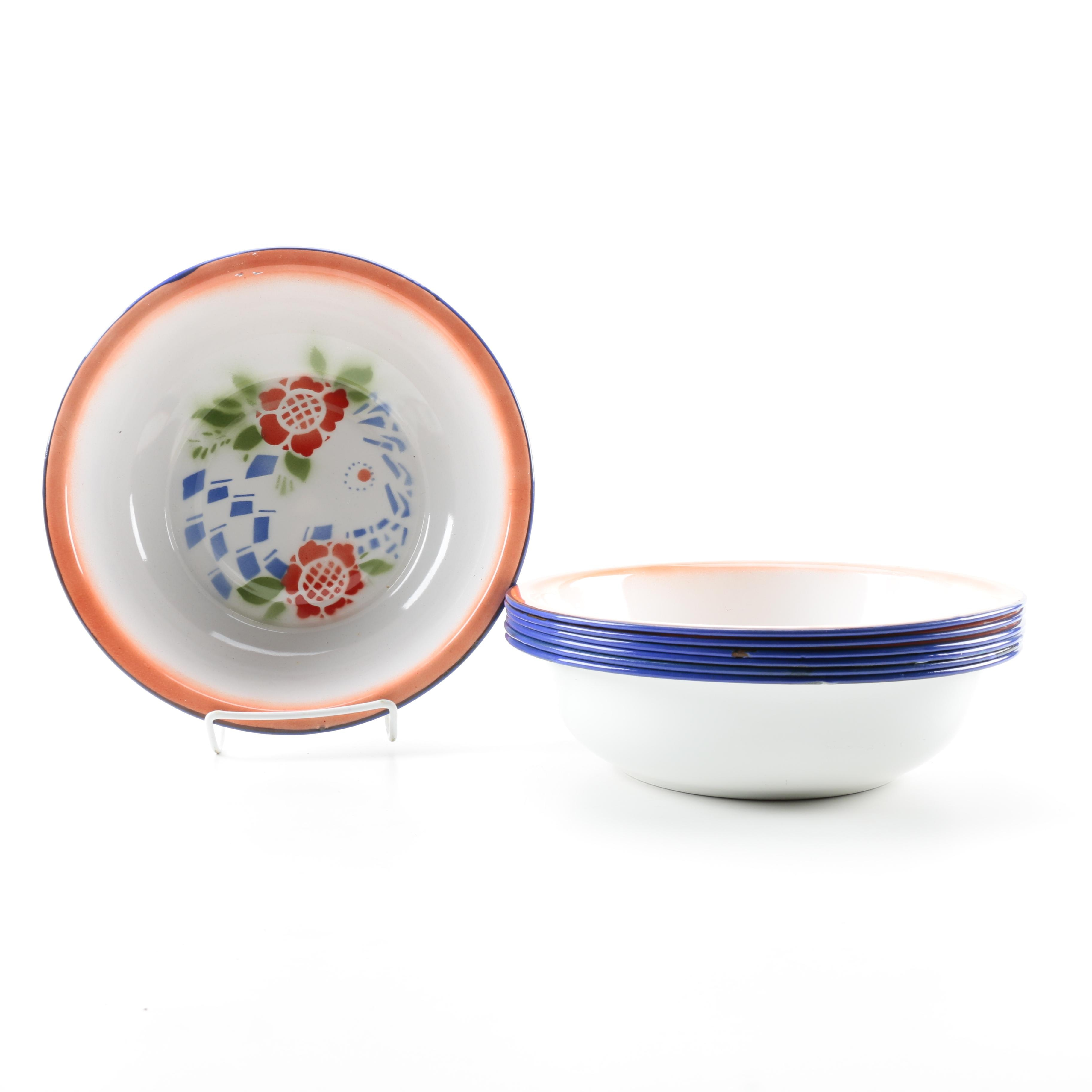 Chinese Butterfly Brand Bowls