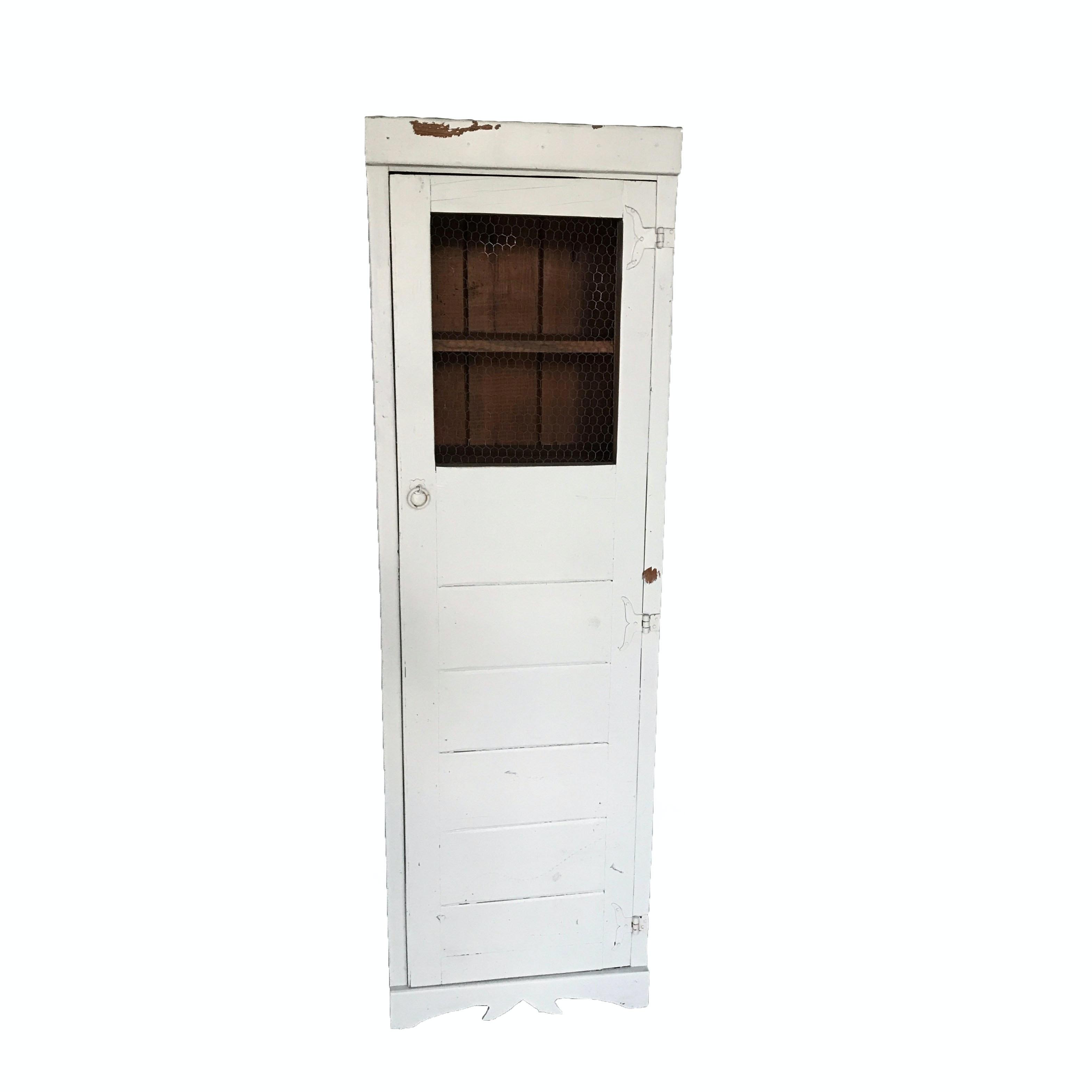 Vintage Pine Storage Cabinet