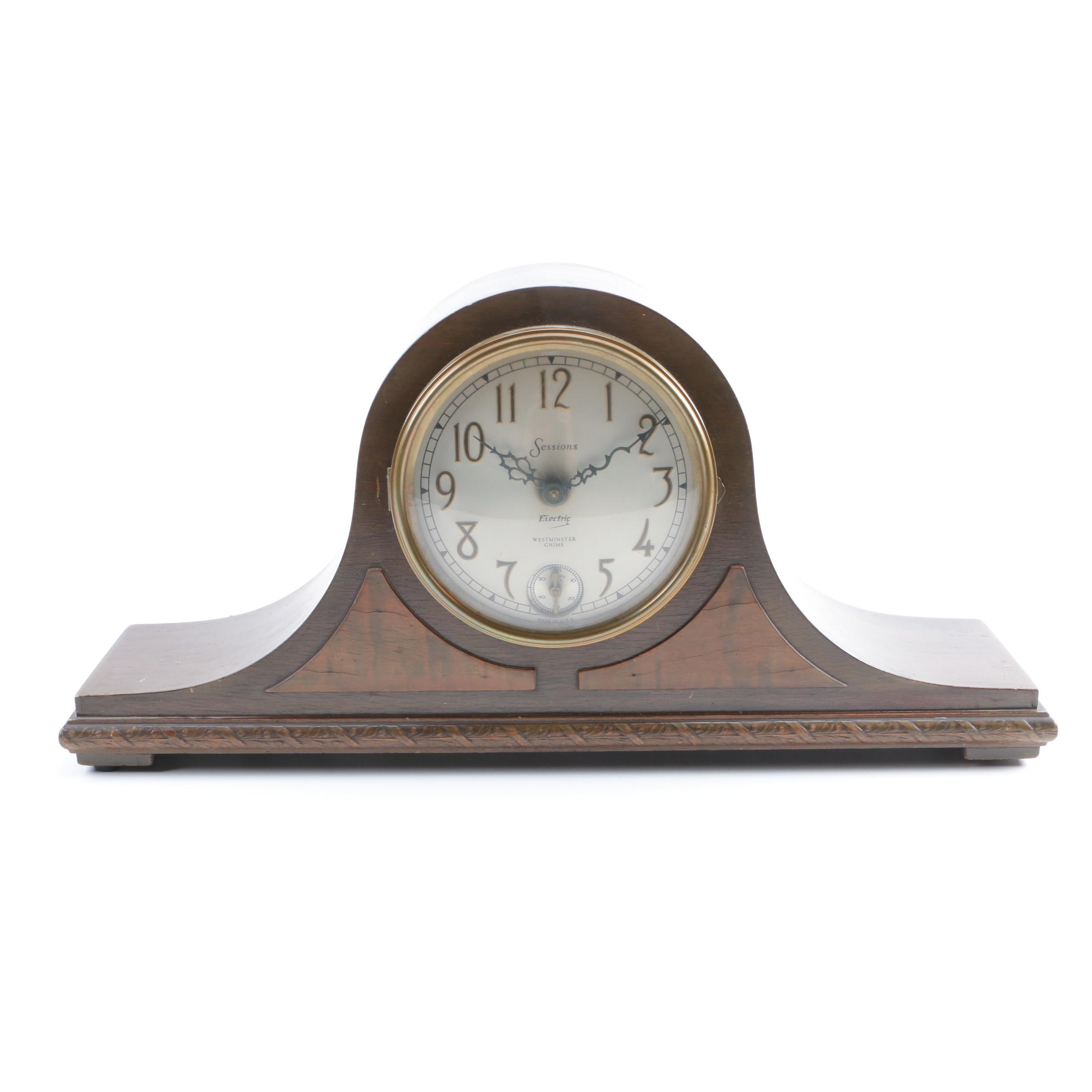 Westminster Chime Sessions Mantel Clock