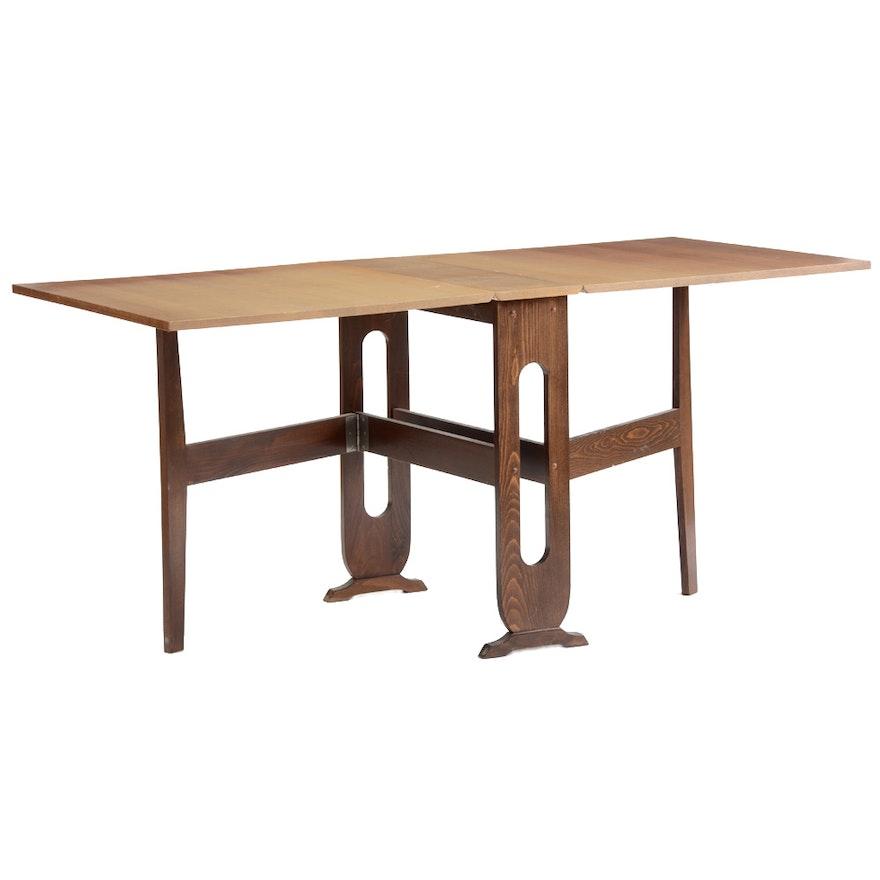 Mid Century Modern Gate Leg Table EBTH - Mid century modern gateleg table