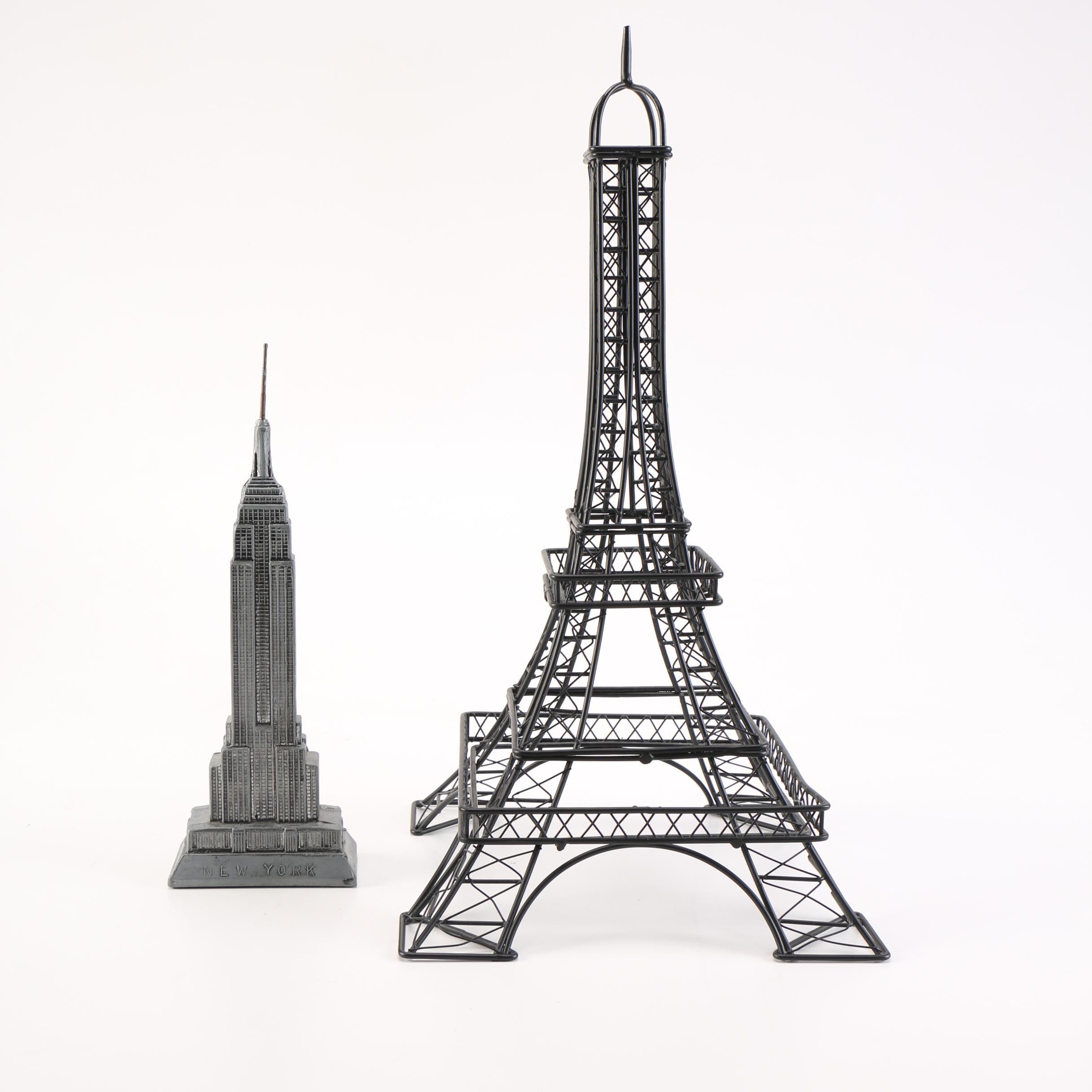 Metal Landmark Figures