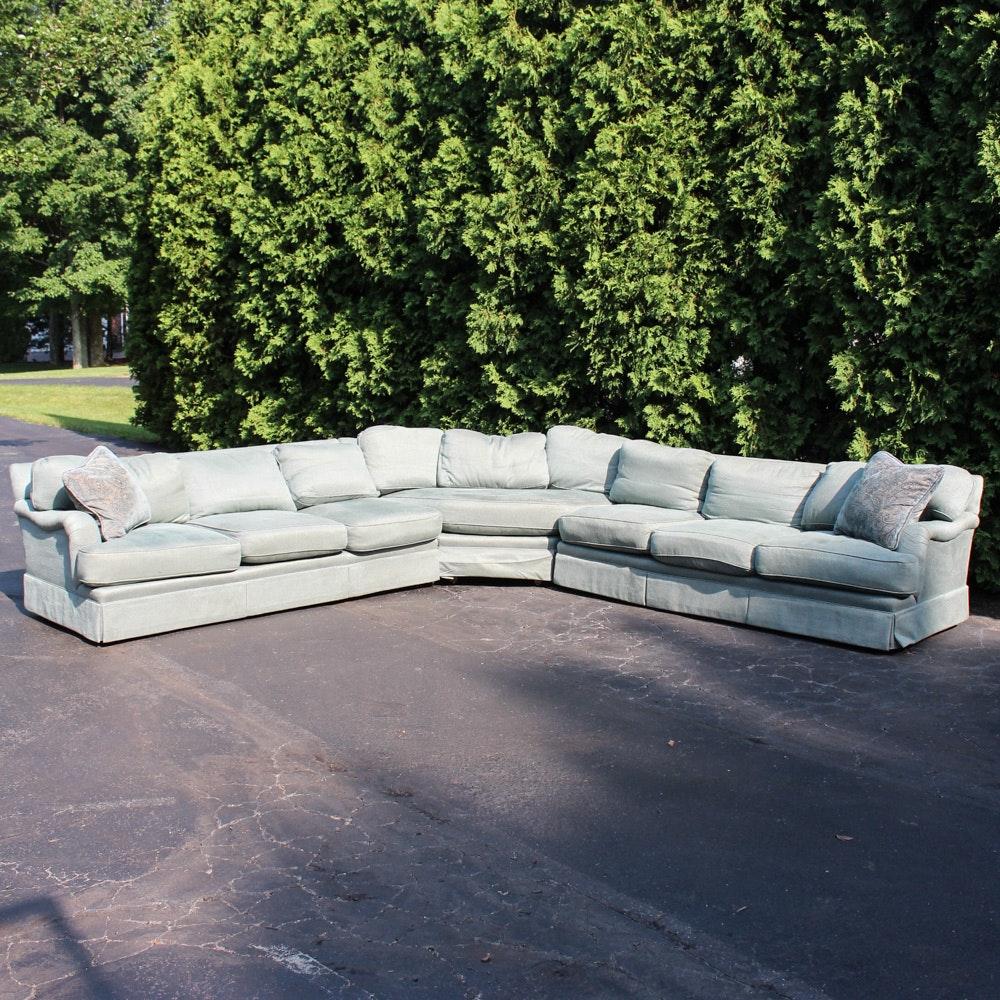 Custom Upholstered Down-Filled Sofa