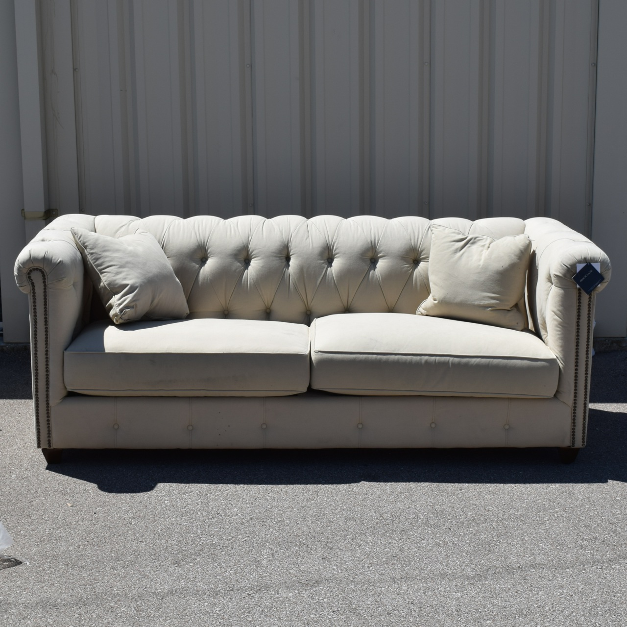 birch lane sofa. Birch Lane Trevino Chesterfield Sofa .