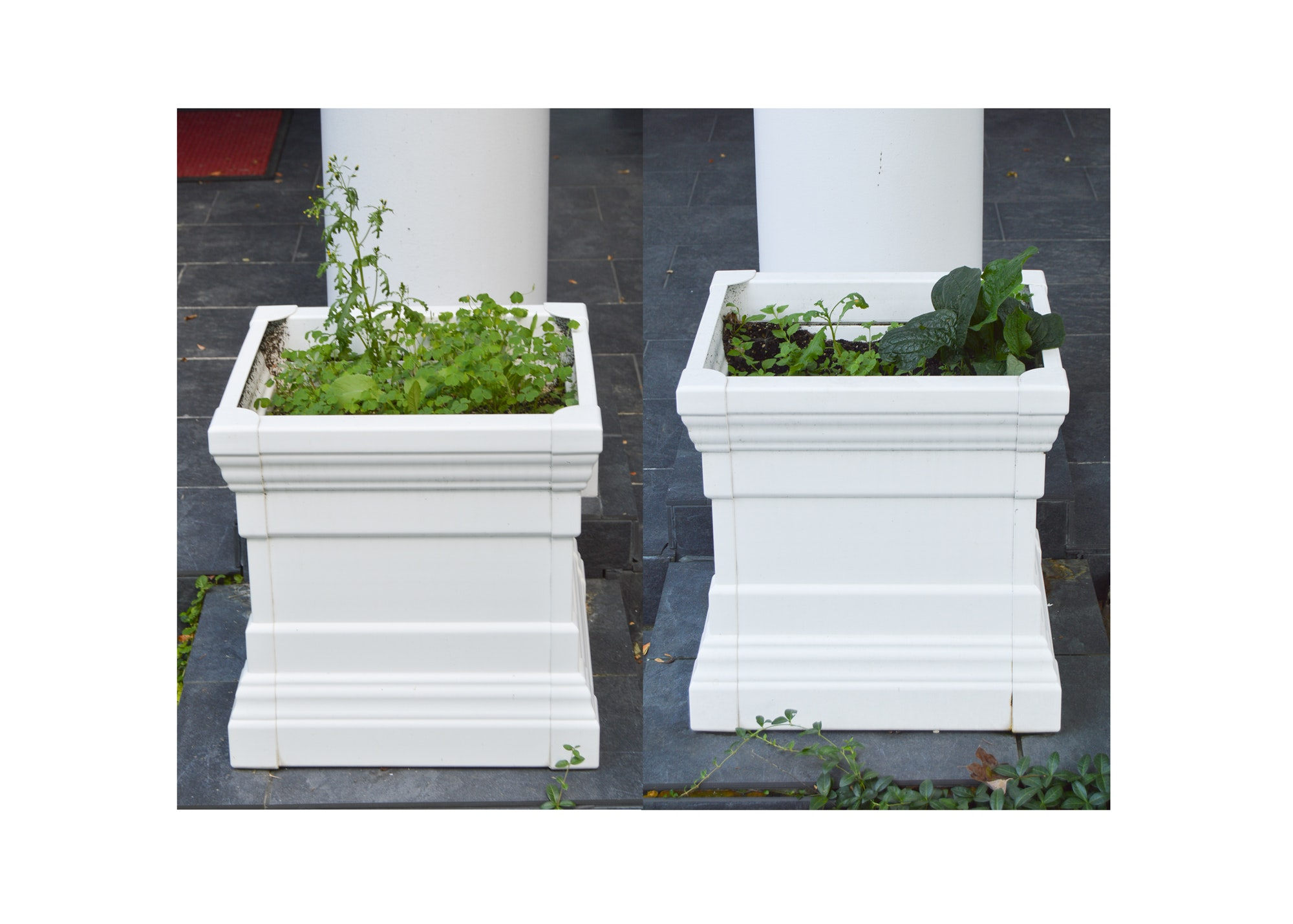 Outdoor Square Planters