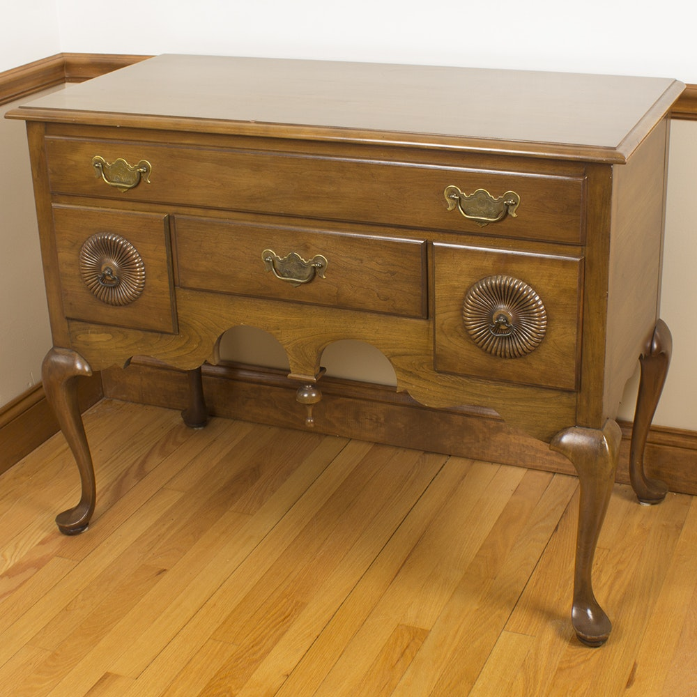 """Vintage Chippendale Style """"Lowboy"""" Chest"""