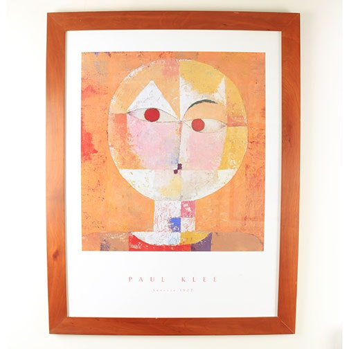 "Offset Lithograph after Paul Klee ""Scenecio"""