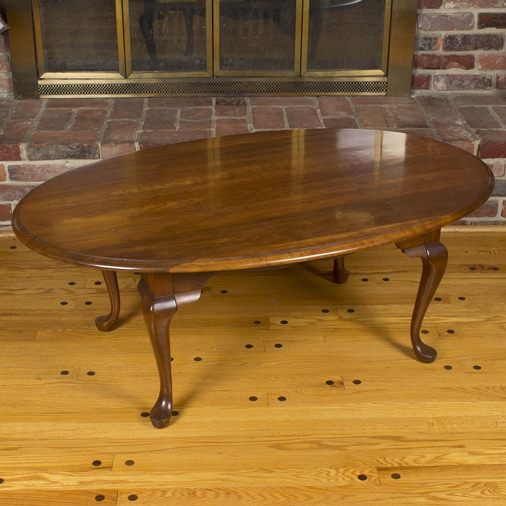 Pennsylvania House Queen Anne Style Cherry Coffee Table ...