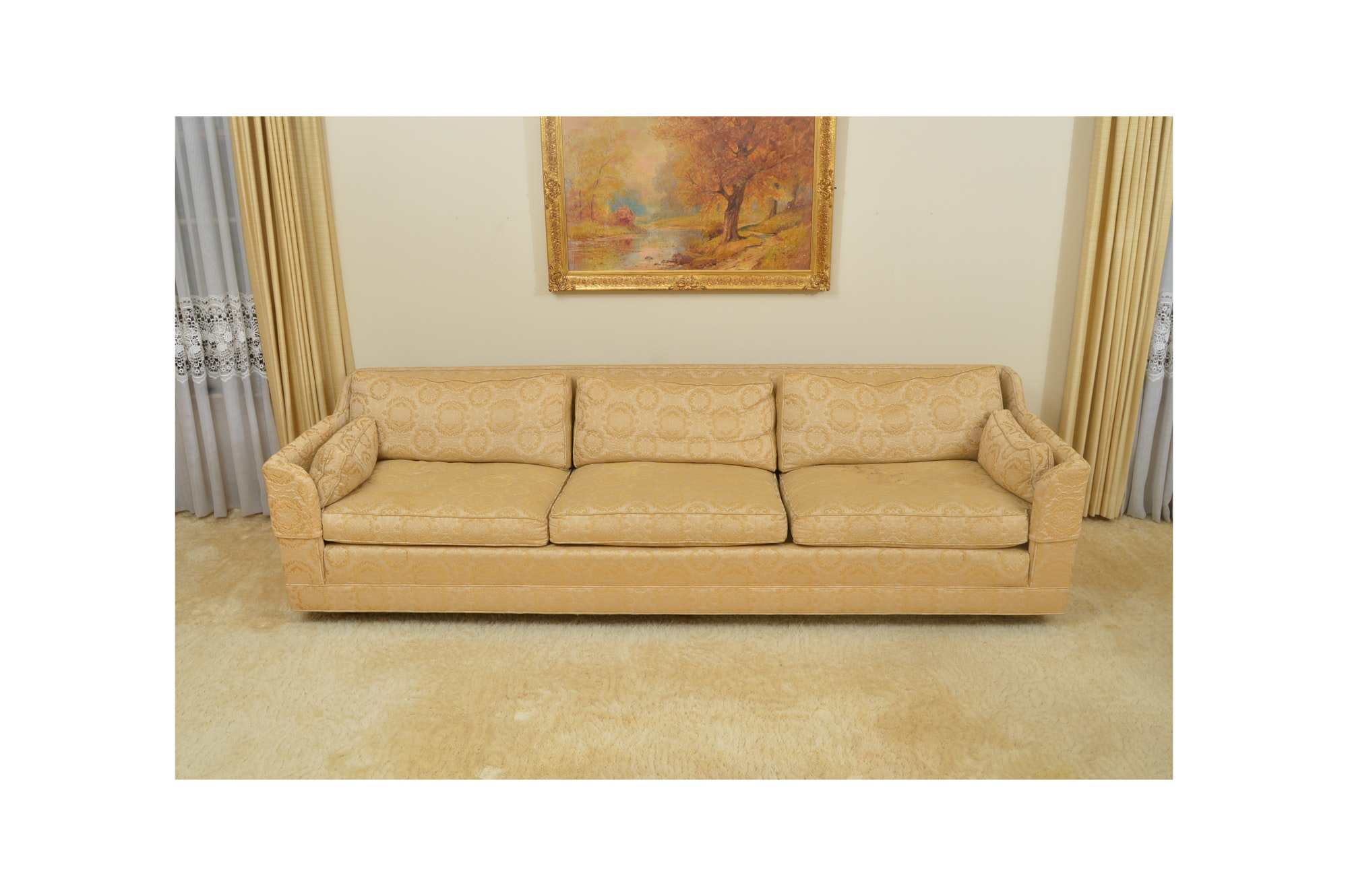 Mid Century Modern Sofa by Jamison- Cichy