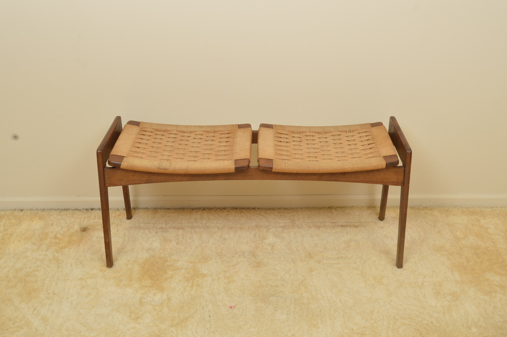 Danish Modern Entry Bench