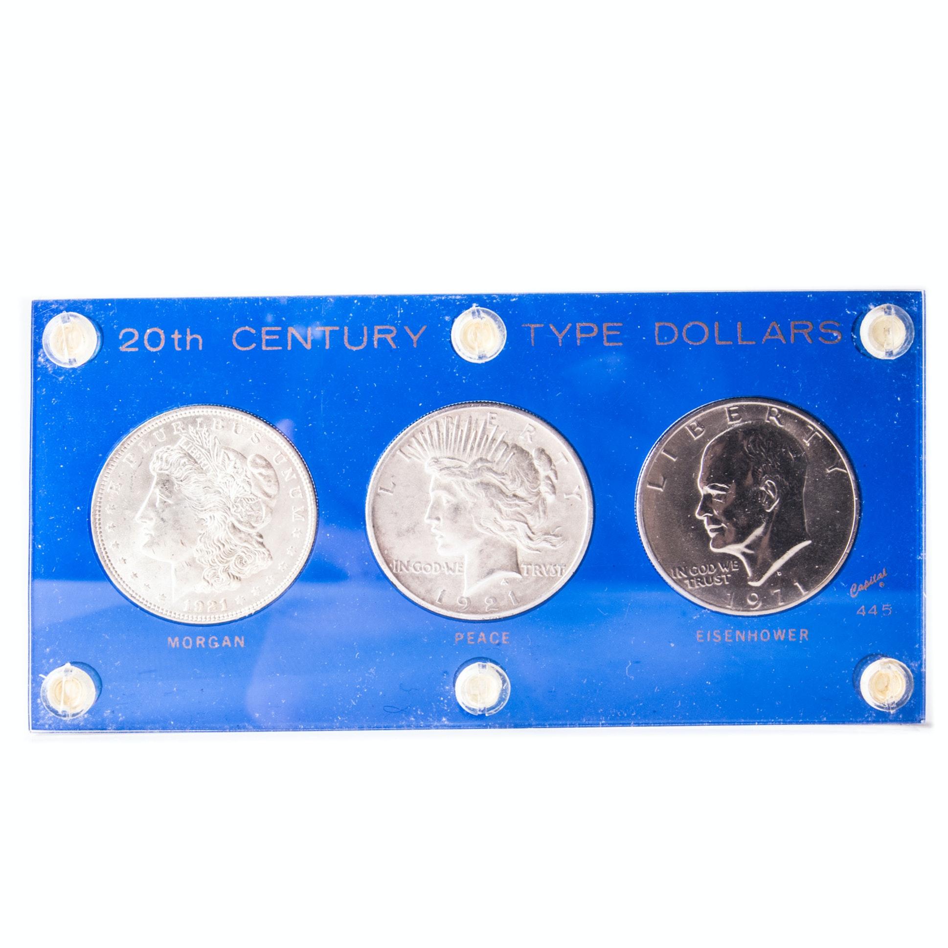 20th Century Type Dollars