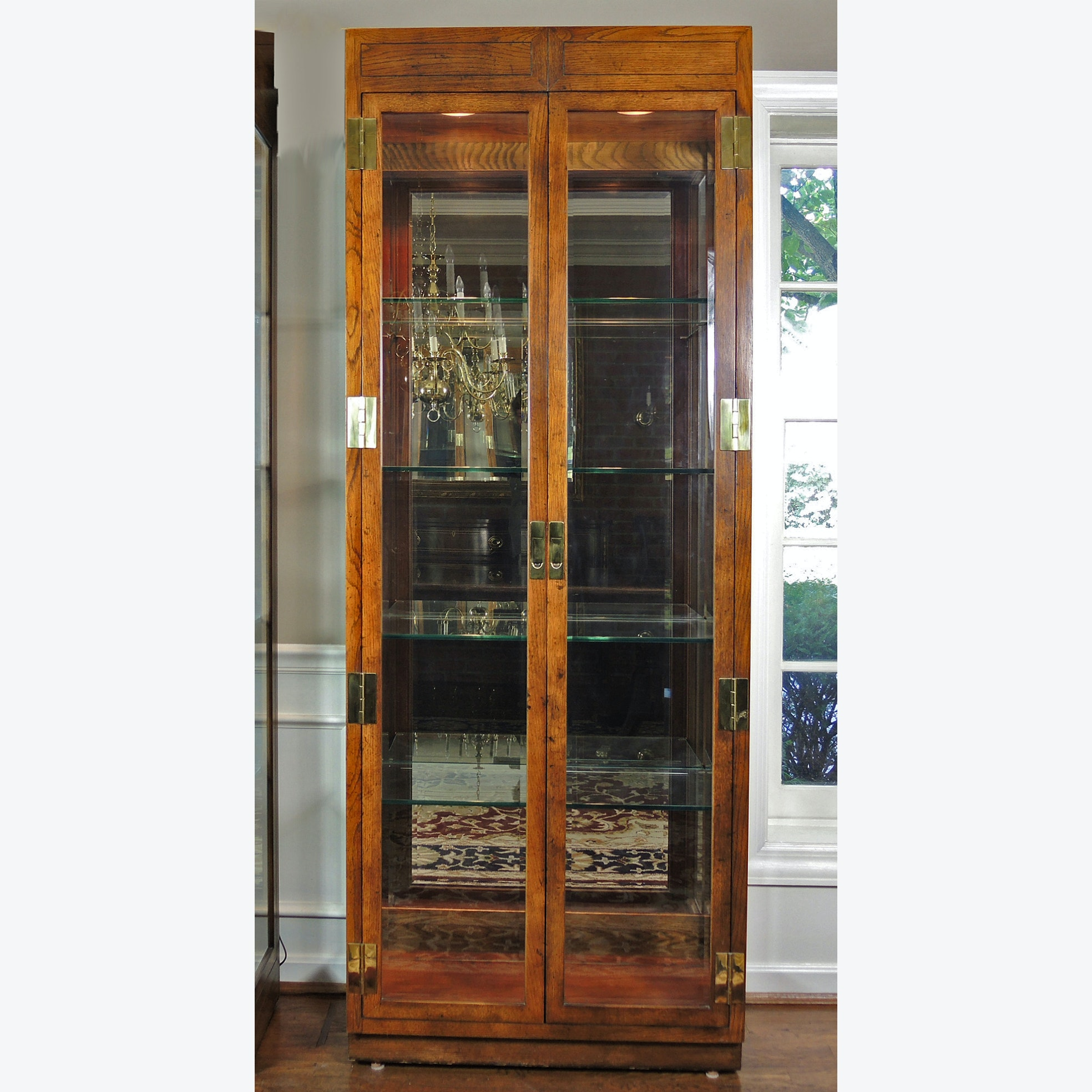 Henredon Lighted Display Cabinet