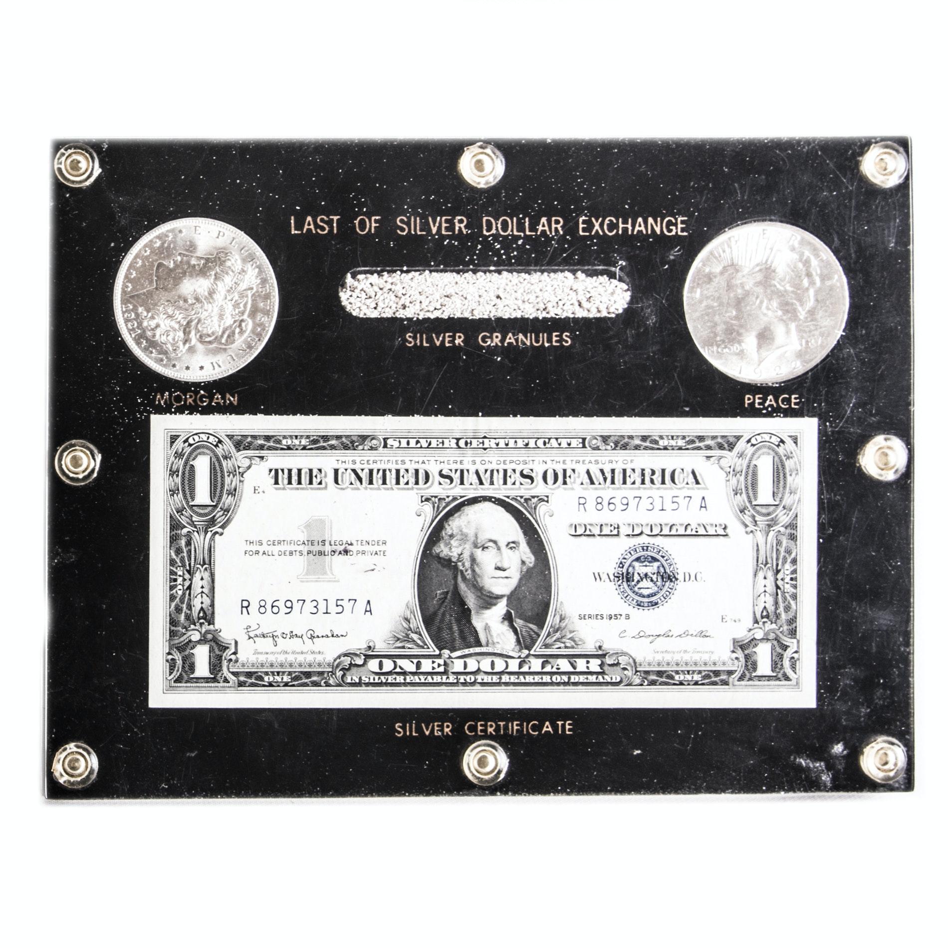 Last of Silver Dollar Exchange