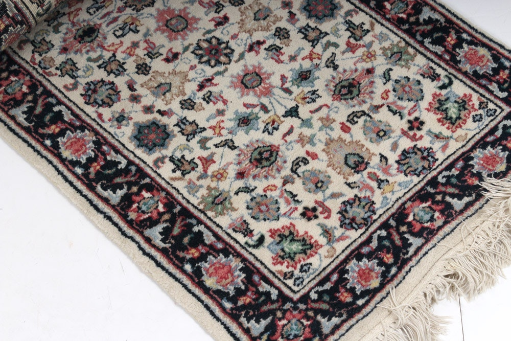 Hand Knotted Indo-Persian Accent Rug