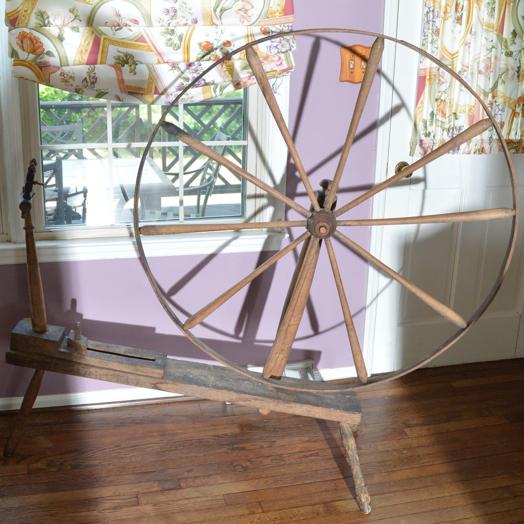 Walking Spinning Wheel