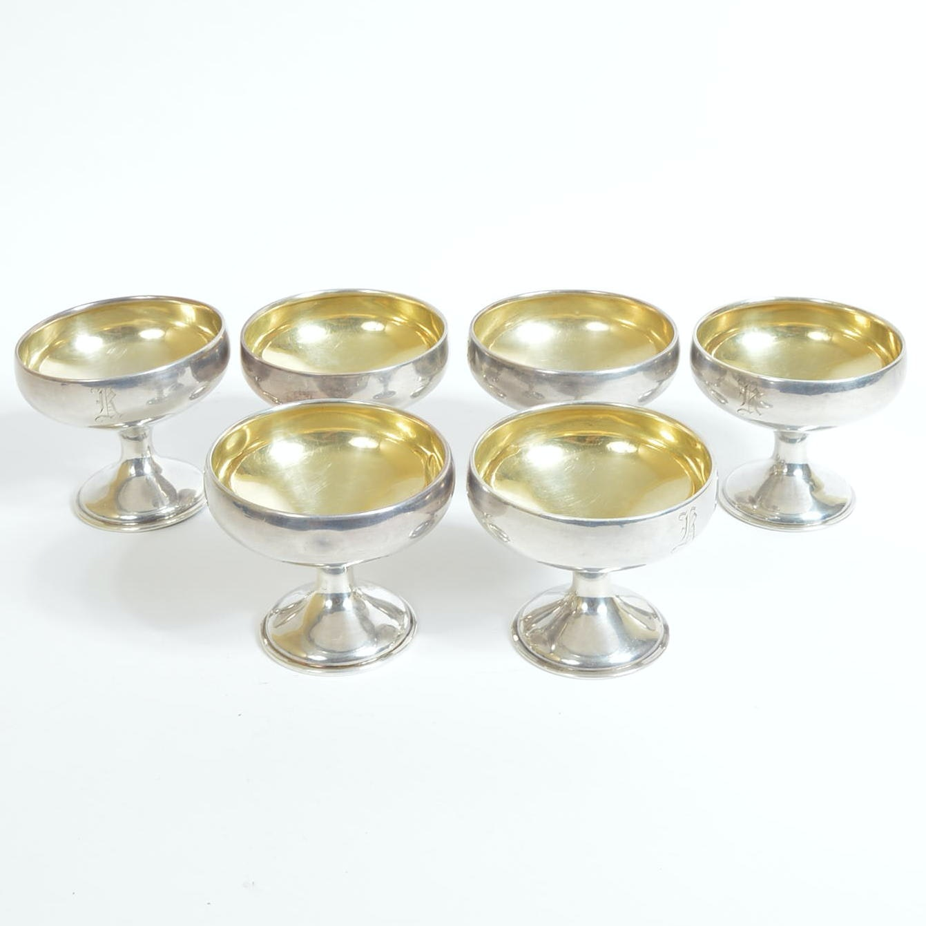 Sterling Silver Champagne Coupes