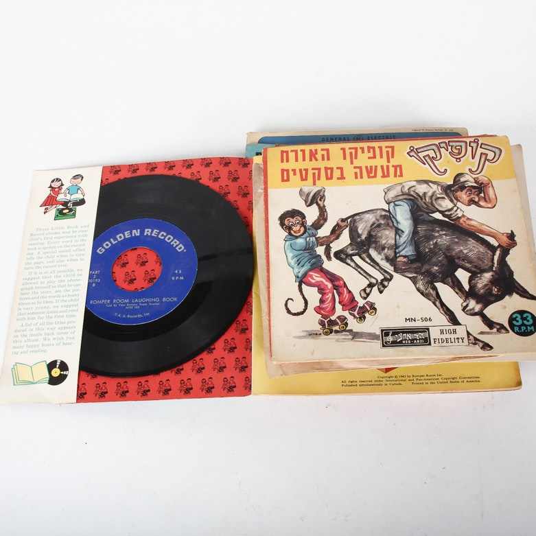 Pop, Children's Hebrew and Other Vintage Records