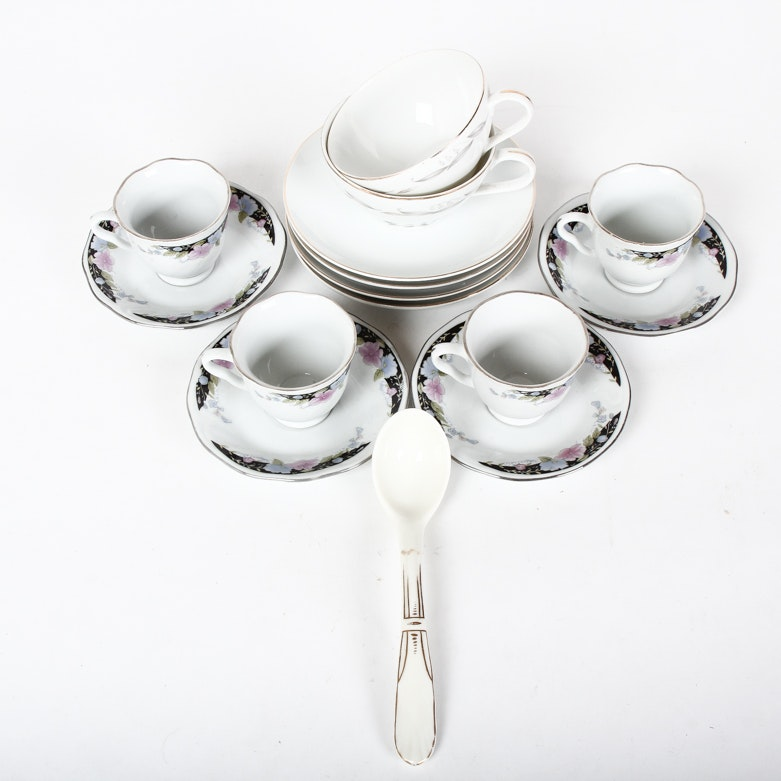 Assortment of China Tableware Including Kaysons