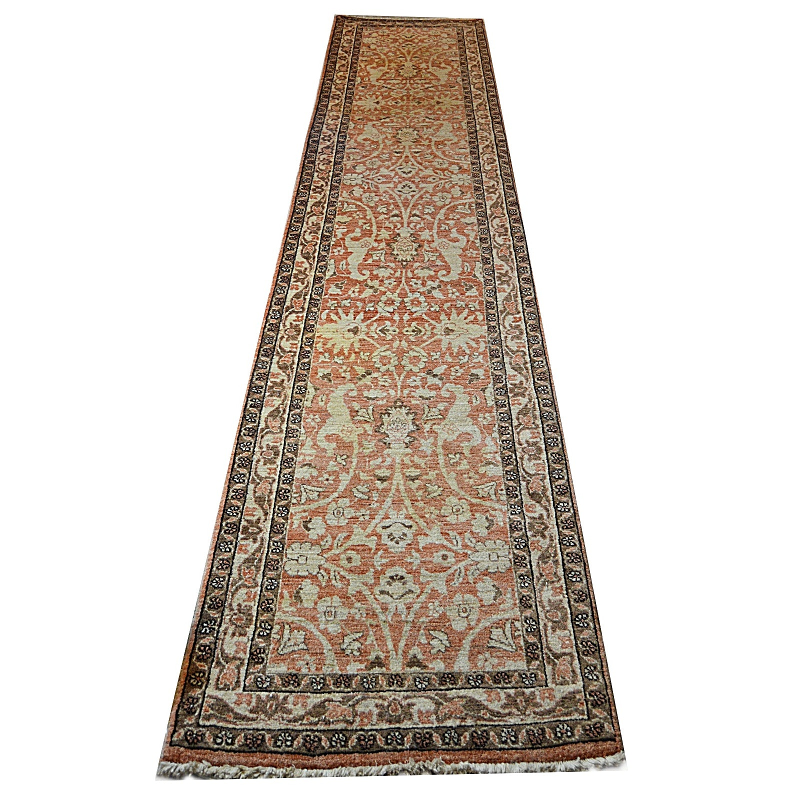 Vintage Northwest Persian Hand Knotted Wool Runner