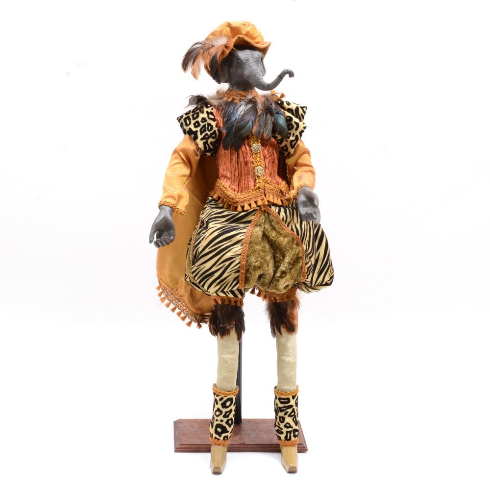 Safari Elephant Doll