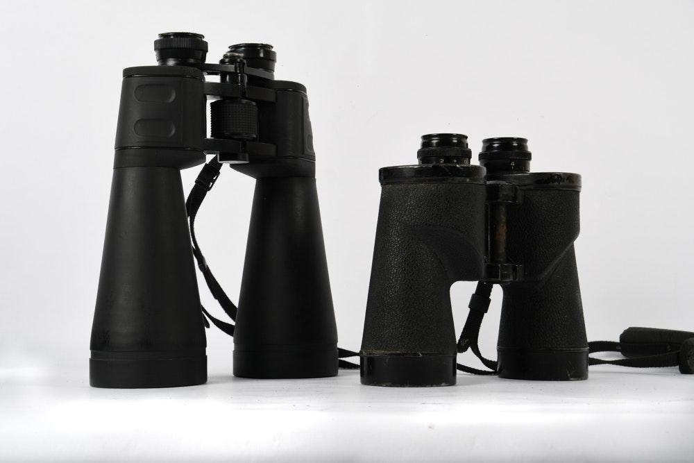 Vintage Binoculars and NcStar Binoculars