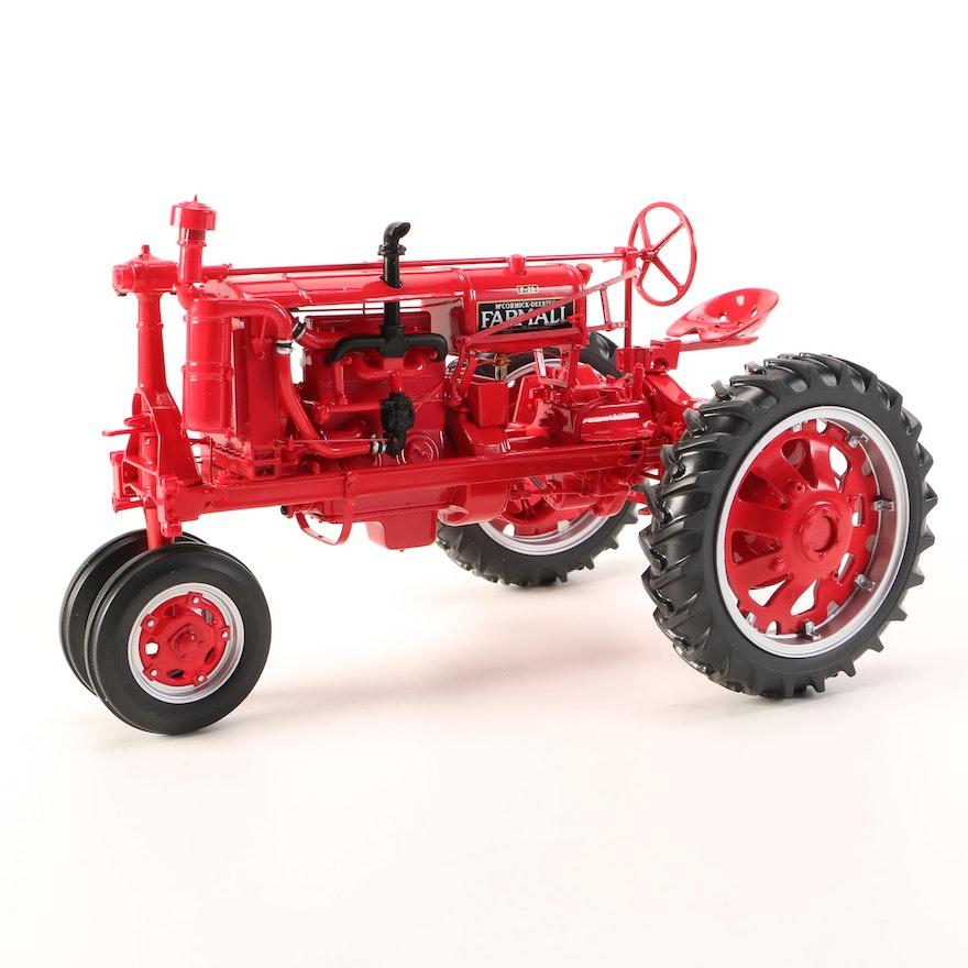 Farmall Tractor Cast Wheel Hub : Franklin mint die cast farmall f farm tractor ebth