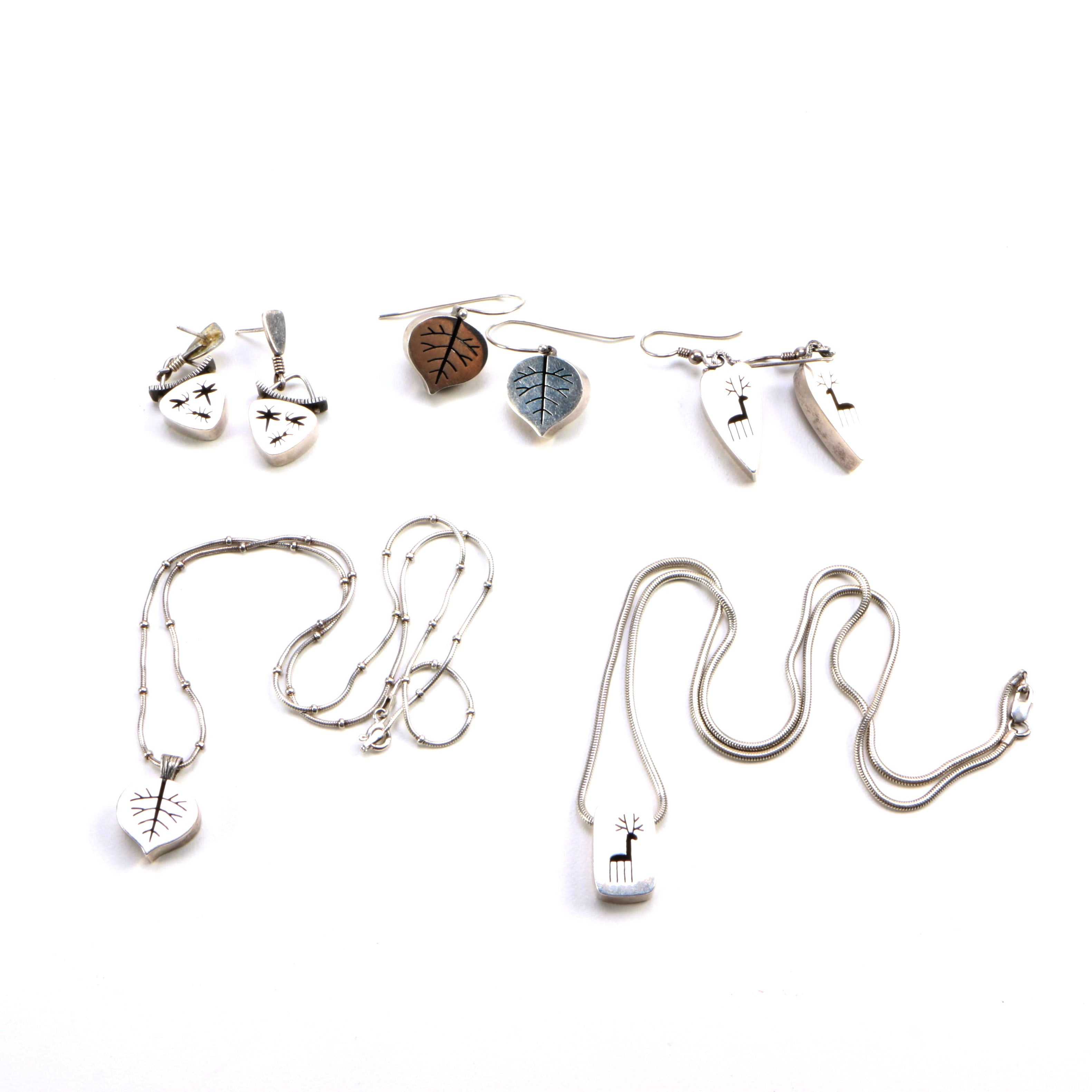 Suzanne Williams Sterling Silver Nature-Themed Jewelry