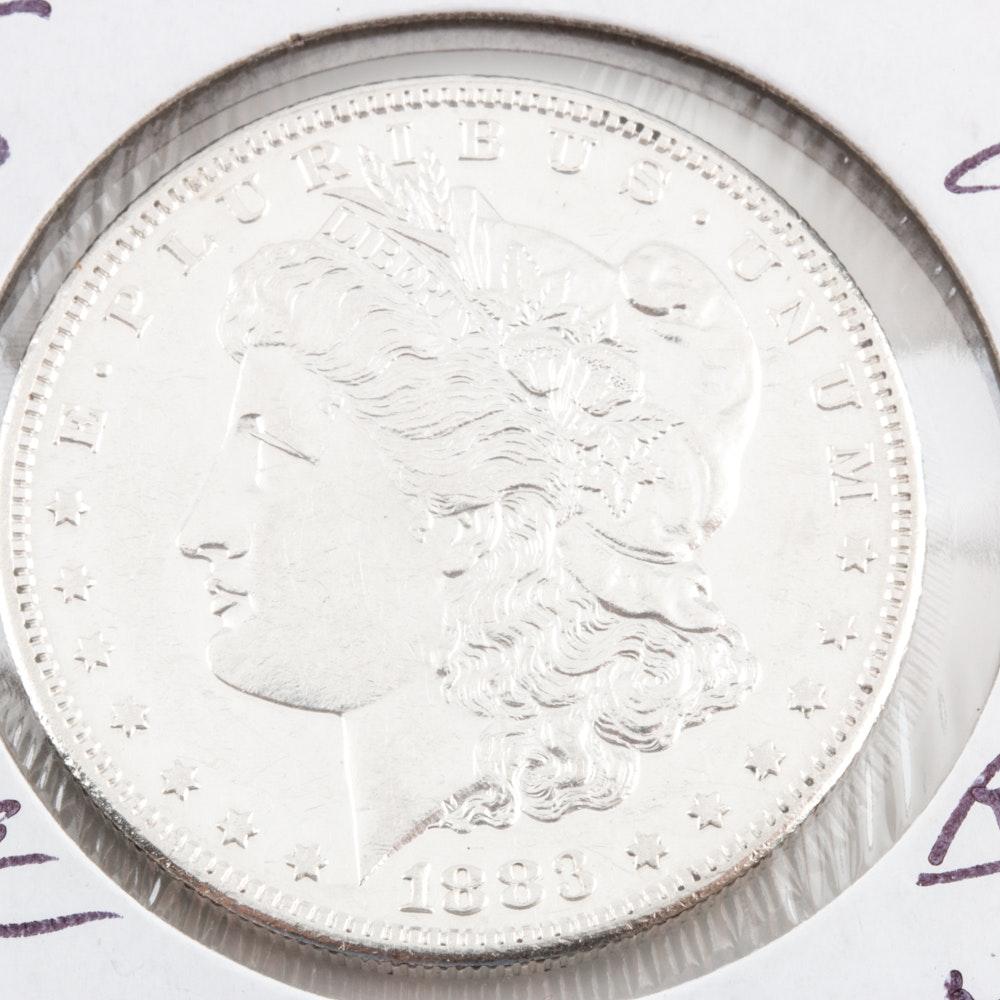 1883-S Silver Morgan Dollar