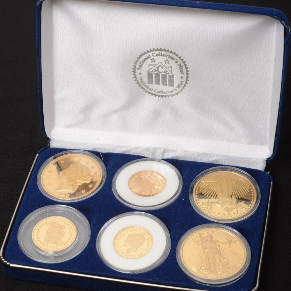 National Collector's Mint America's Rare Gold Coin Tribute Proof Collection