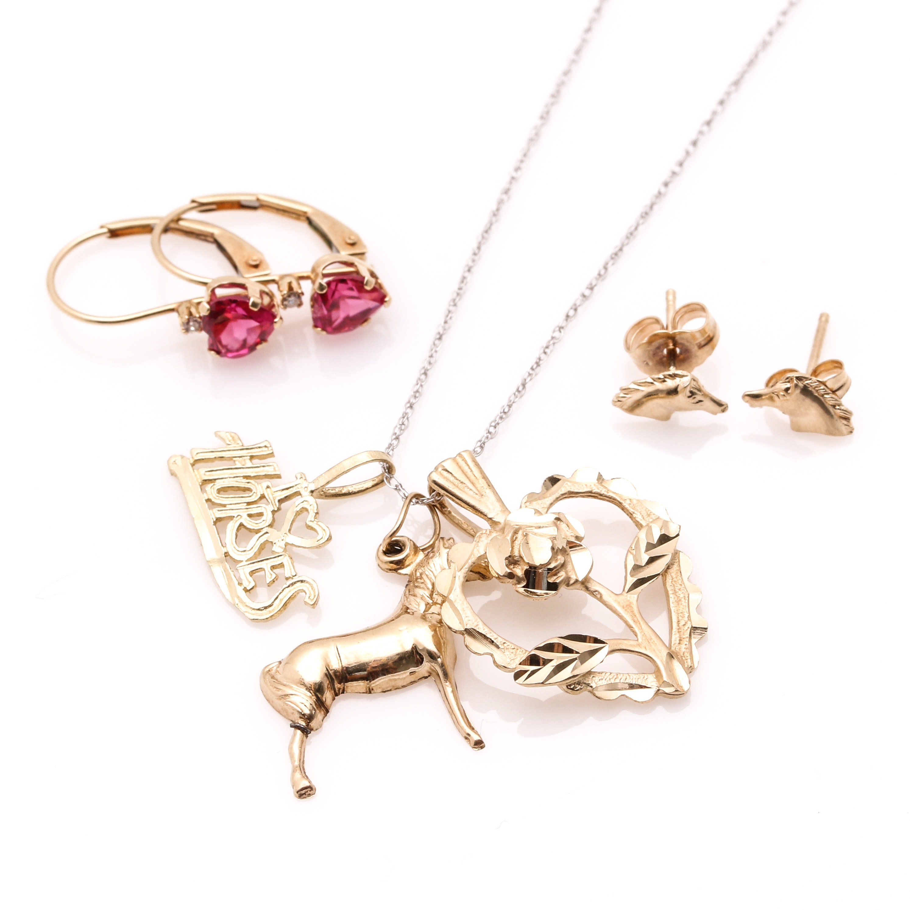 Mixed Gold Assortment of Jewelry