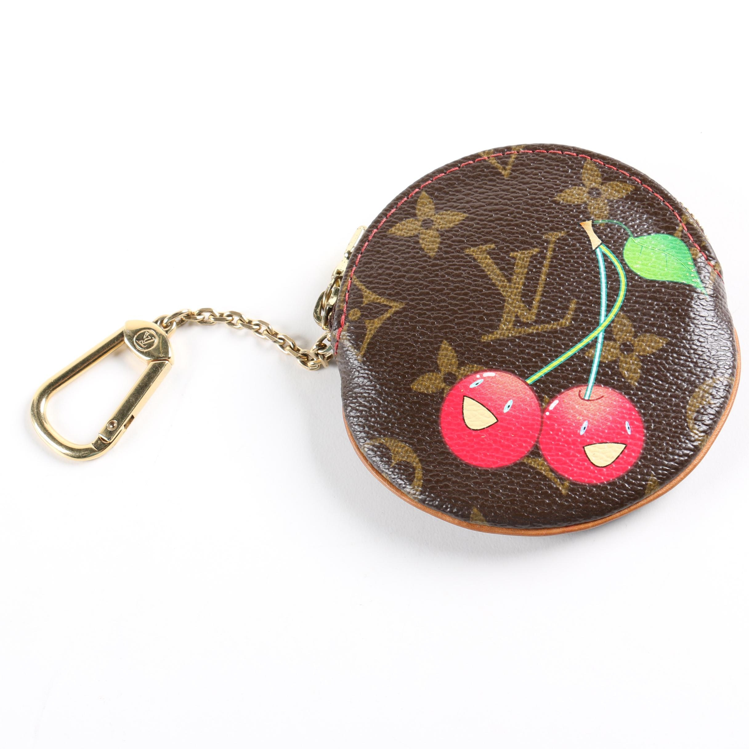 Louis Vuitton Limited Edition Cerises Round Coin Purse