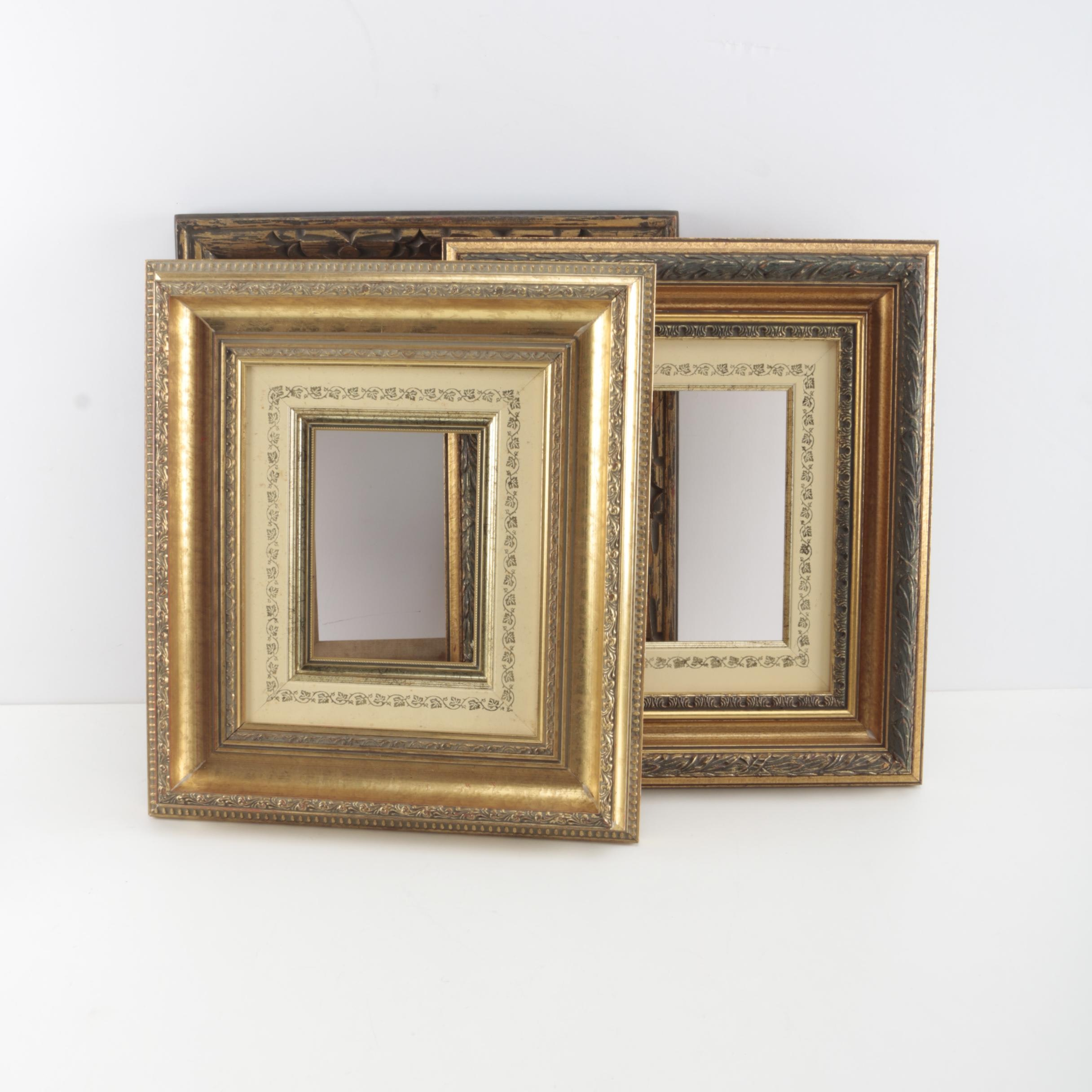Gold Toned Picture Frames