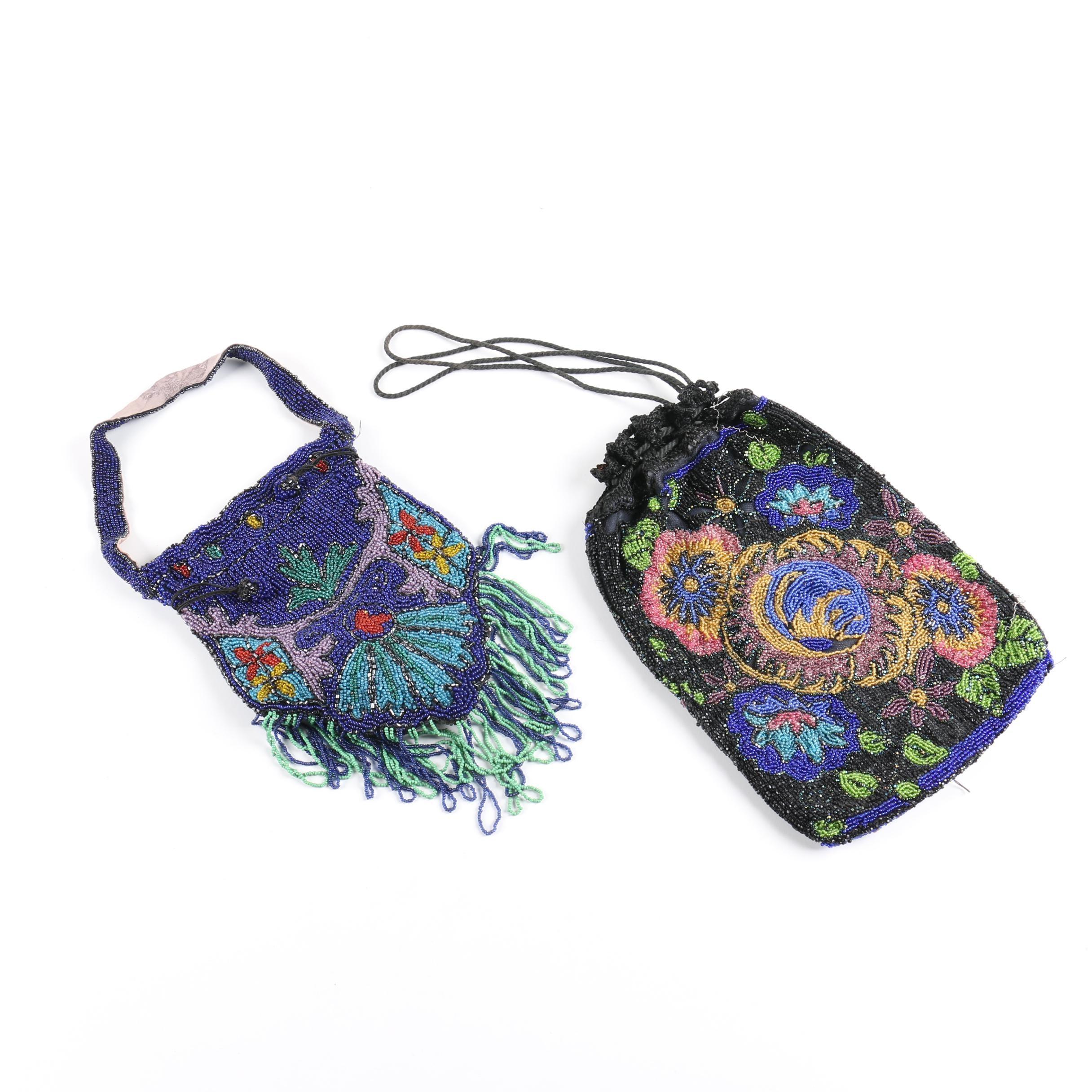 Ornate Beaded Handbags