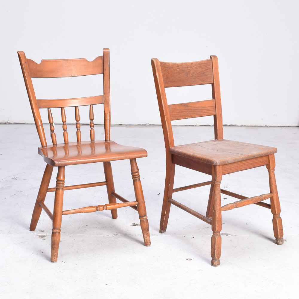 Conant Ball And Richardson Brothers Co. Vintage Side Chairs