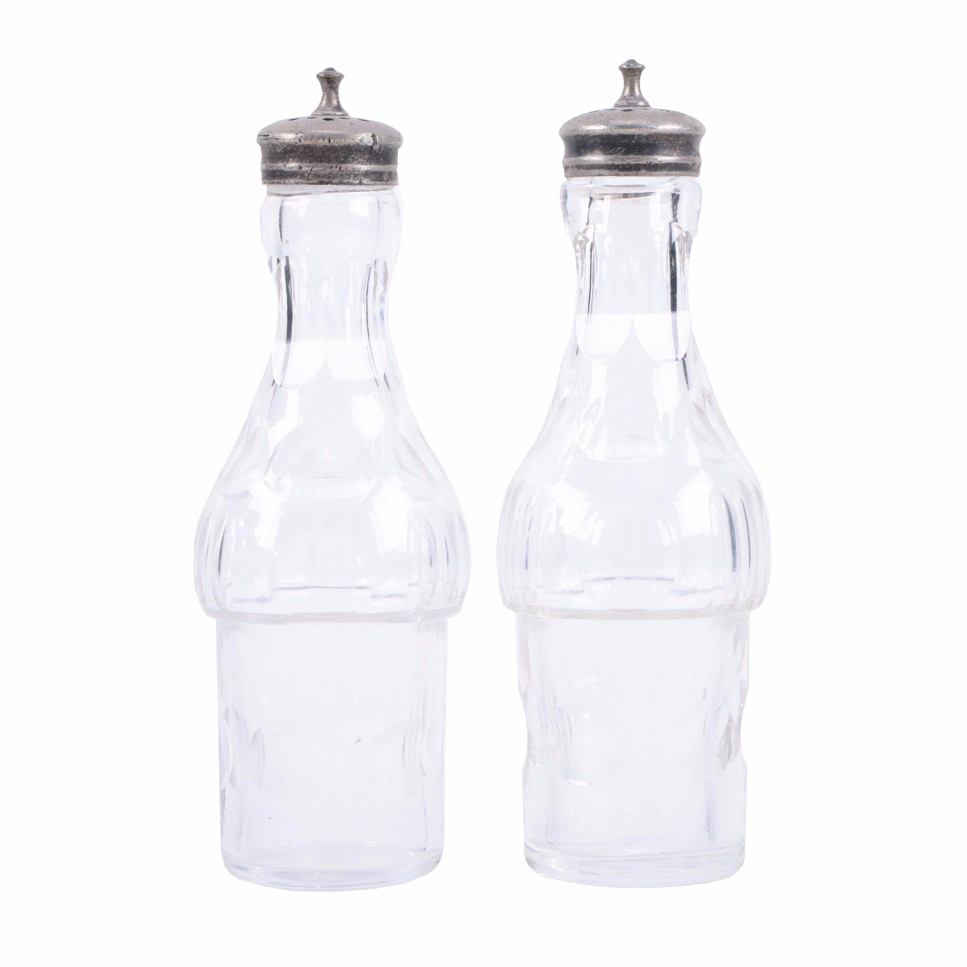 Glass Condiment Shakers