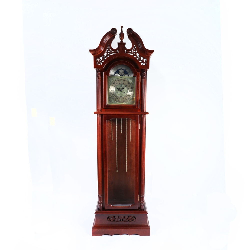 Aeon Chippendale Style Grandfather Clock