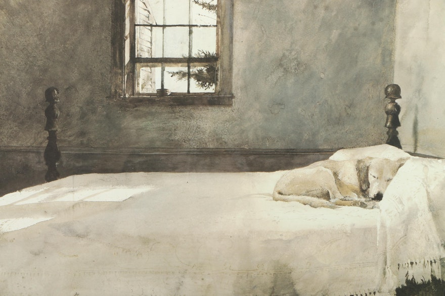 After Andrew Wyeth Offset Lithograph On Paper Quot Master